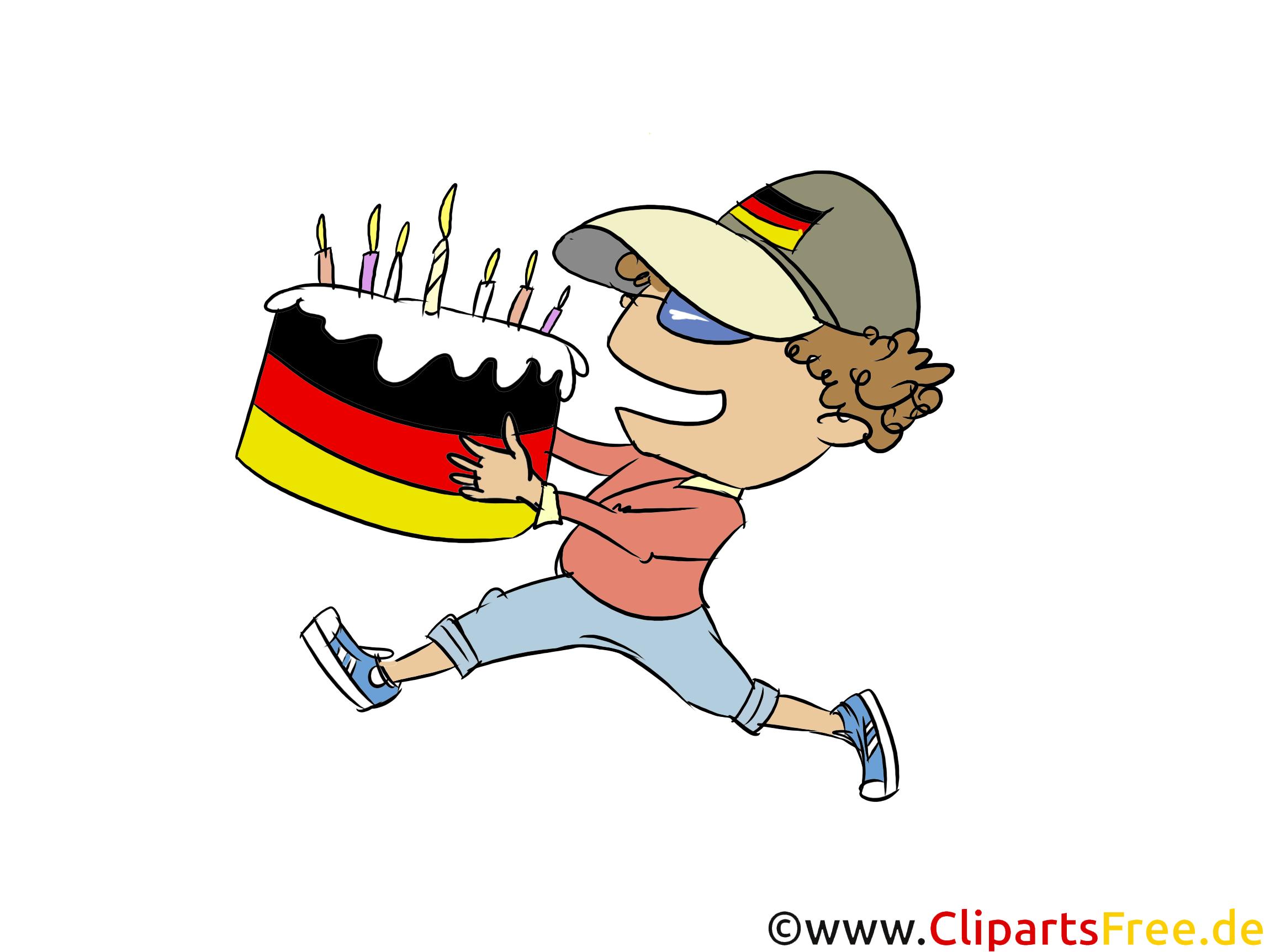 Lustige Cliparts zum Geburtstag