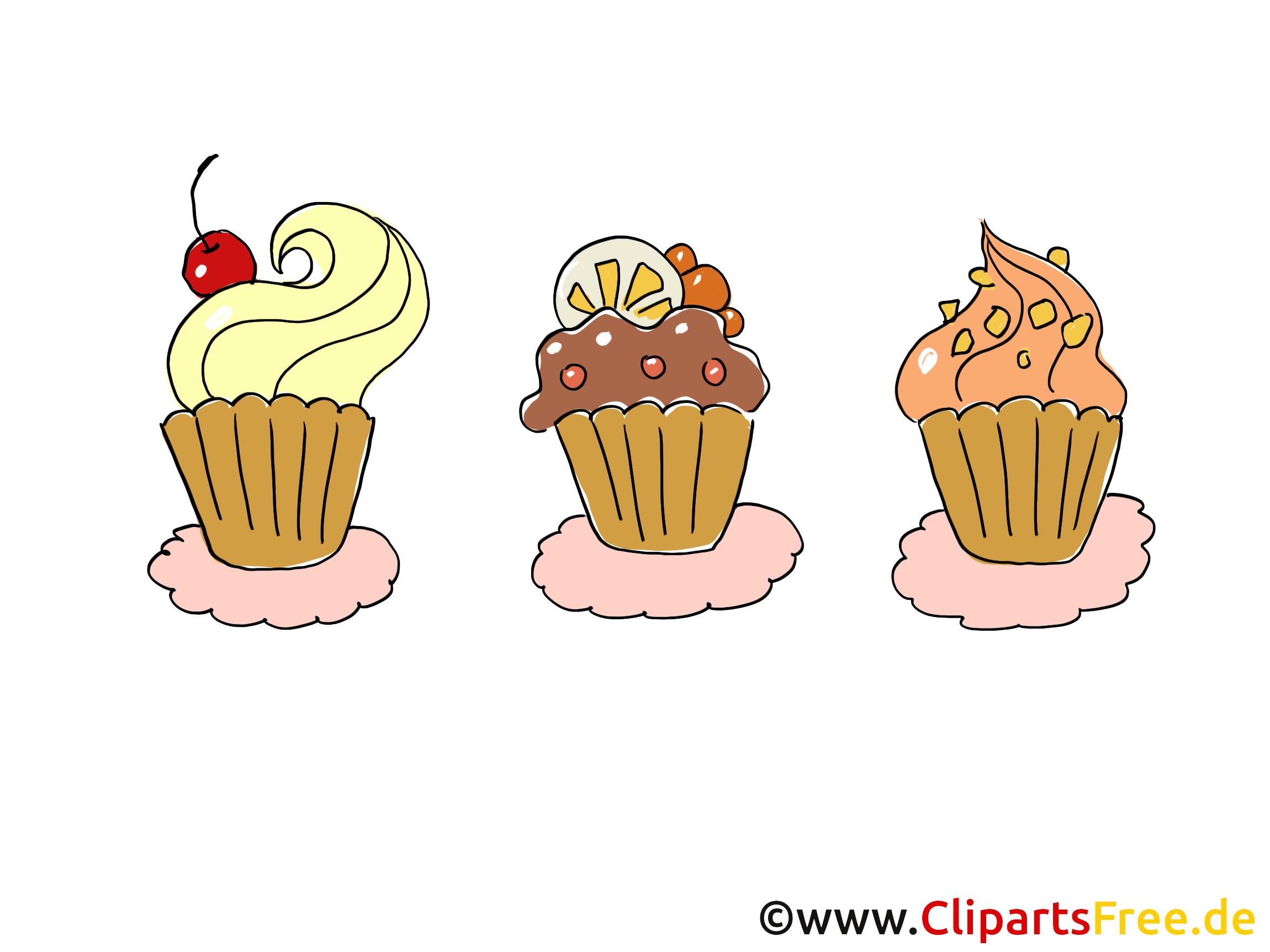 Muffins Clipart Comic Cartoon