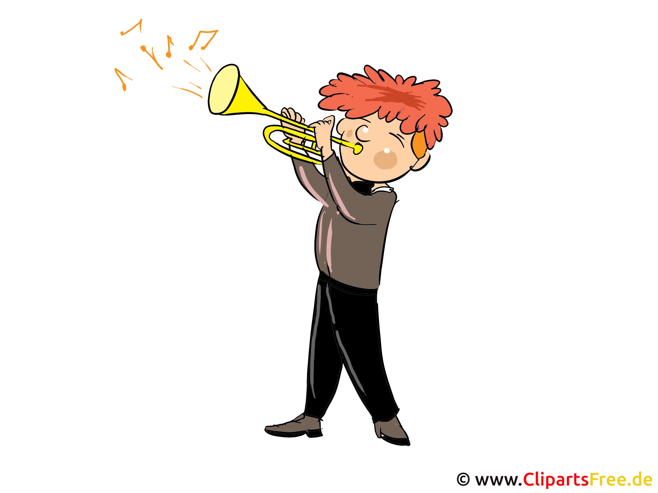 Musiker Bild, Clipart, Cartoon gratis