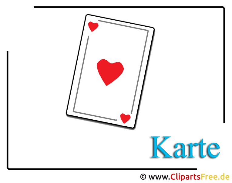 Spielkarten Clipart-Bilder free