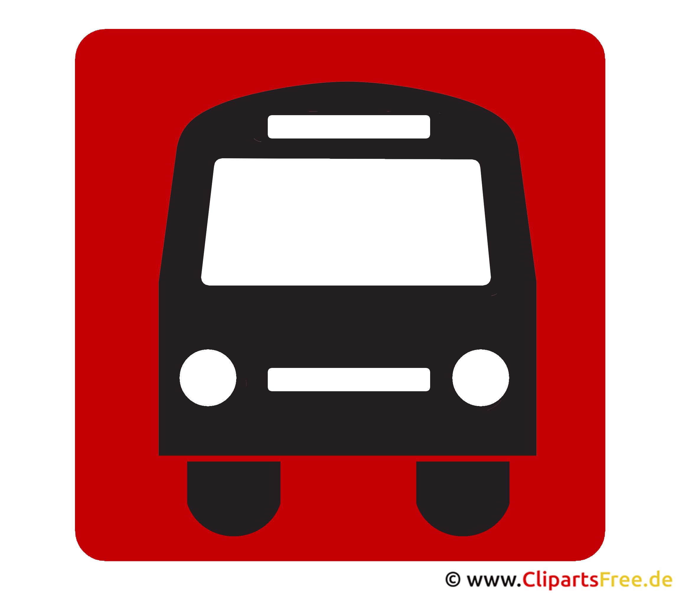 Bus Piktogramm