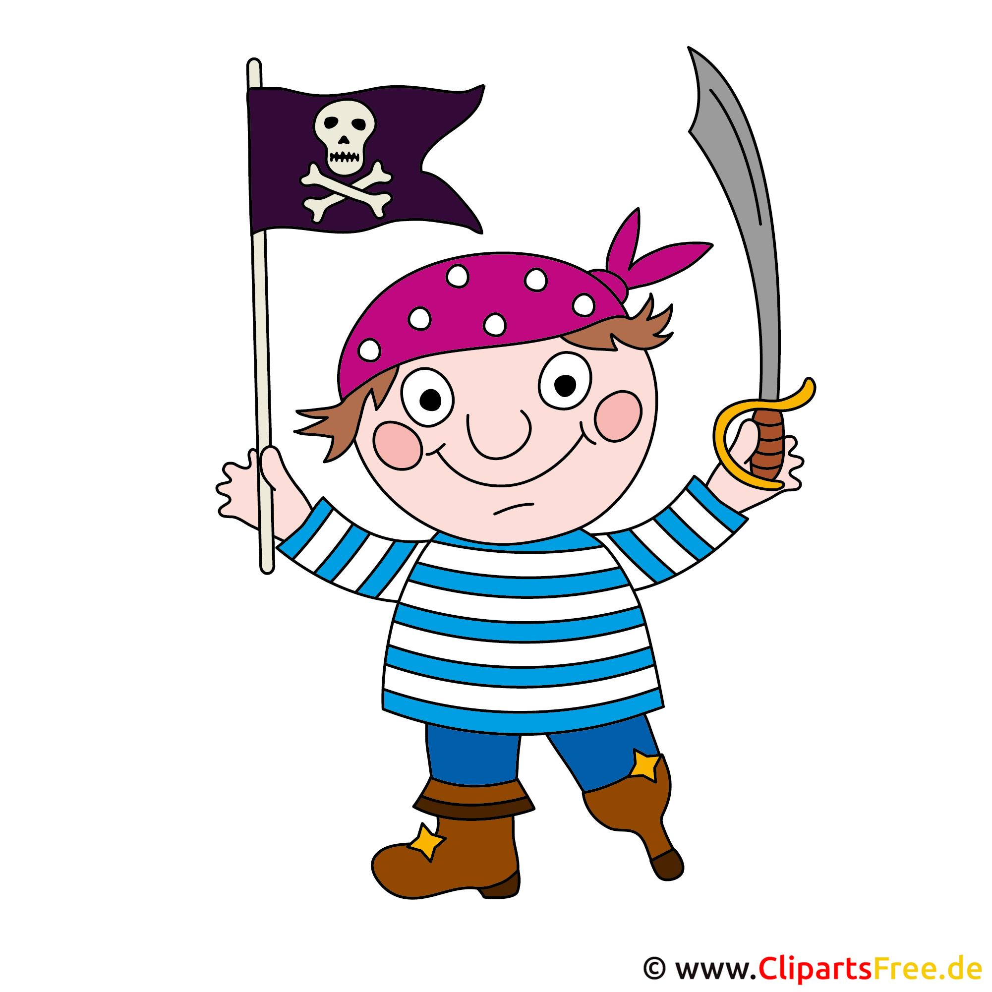 Karneval Clipart Pirat
