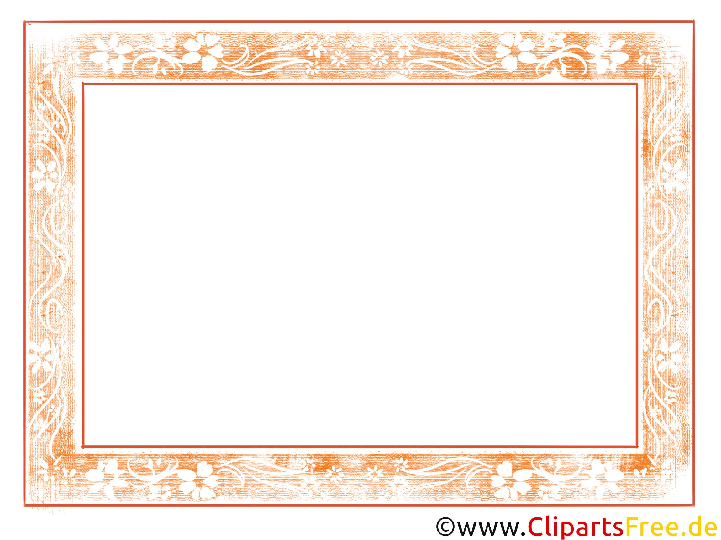 Bilderrahmen für Gemälde - Clipart kostenlos