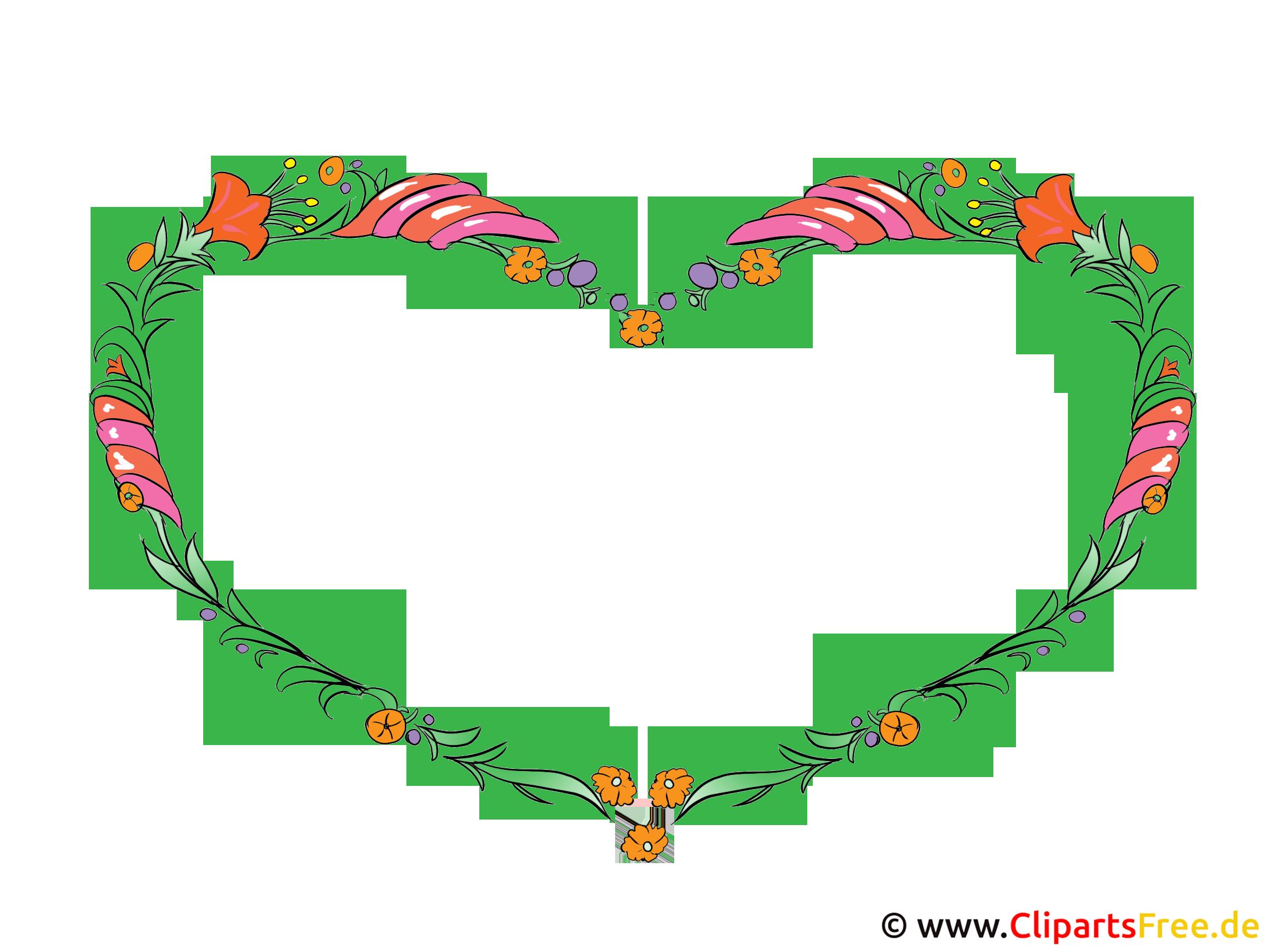 Clipart Blumen Rahmen