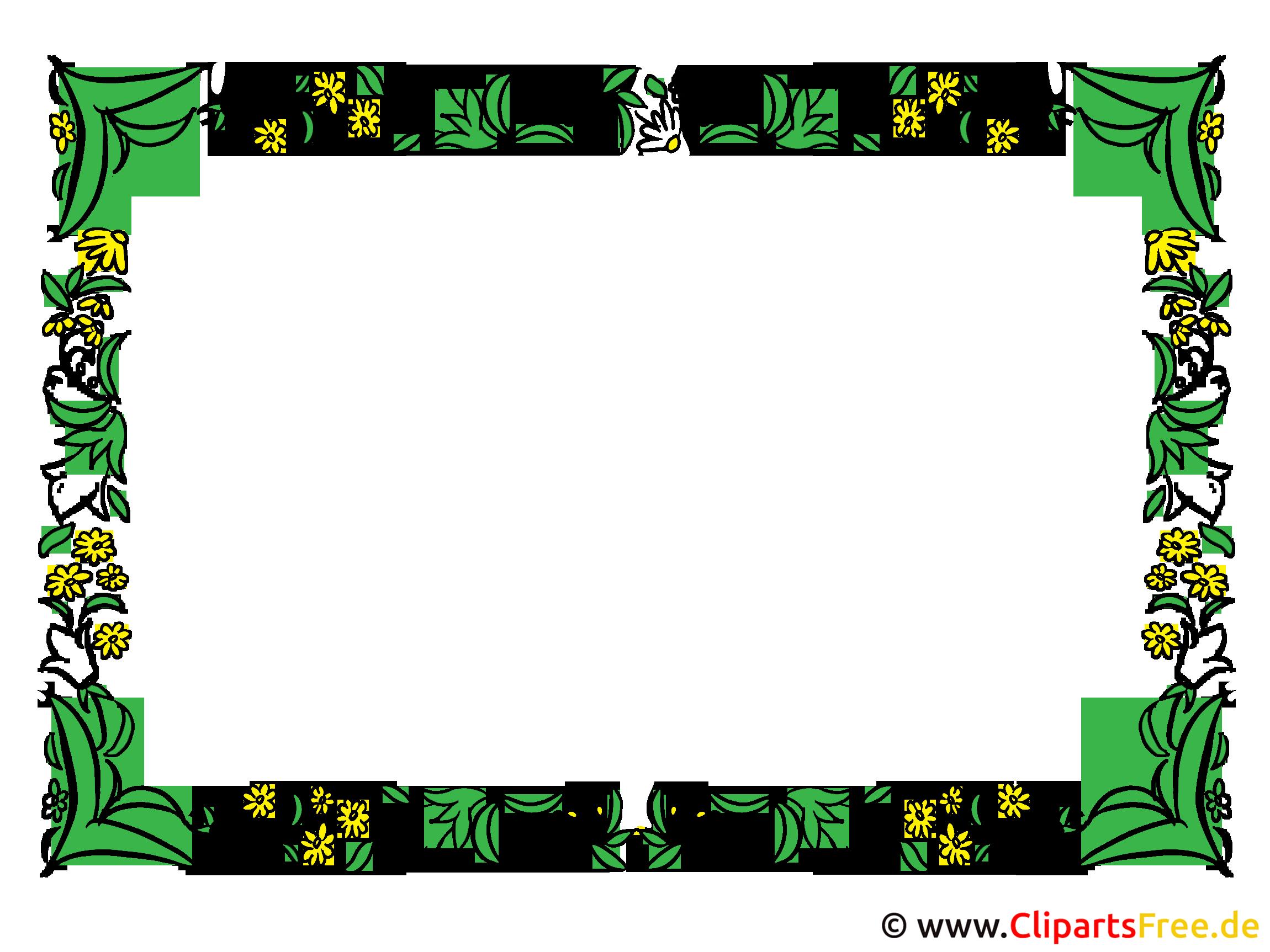 Floralen Rahmen