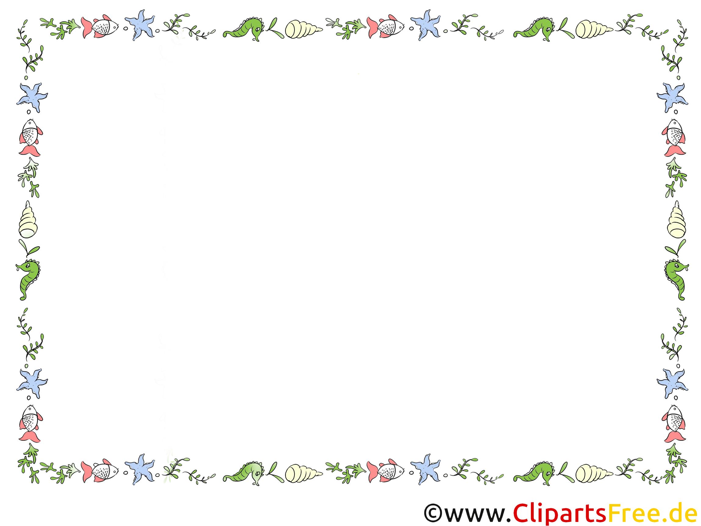 Rahmen Clipart Word kostenlos