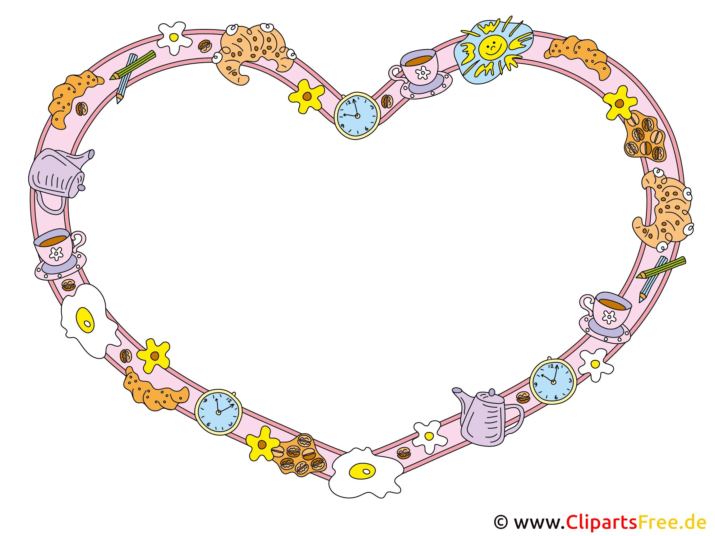 Rahmen Herz Liebe