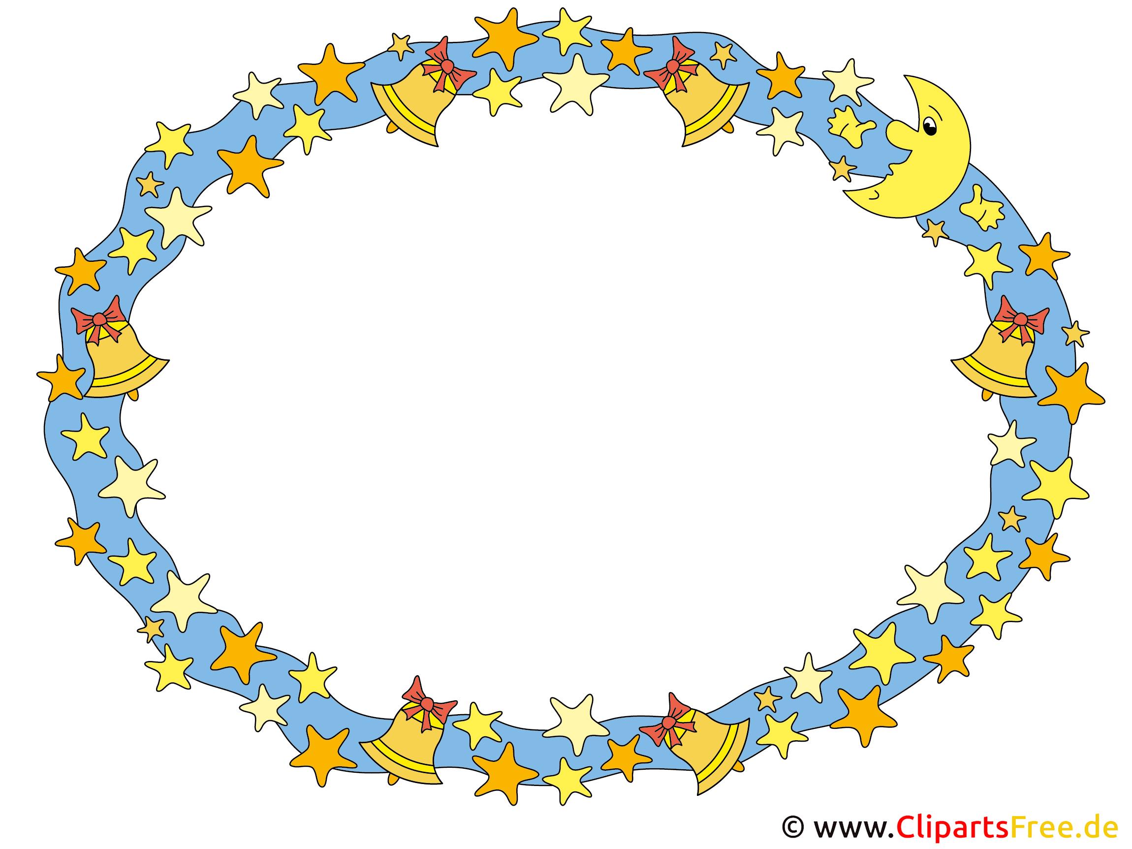 Rahmen oval Clipart