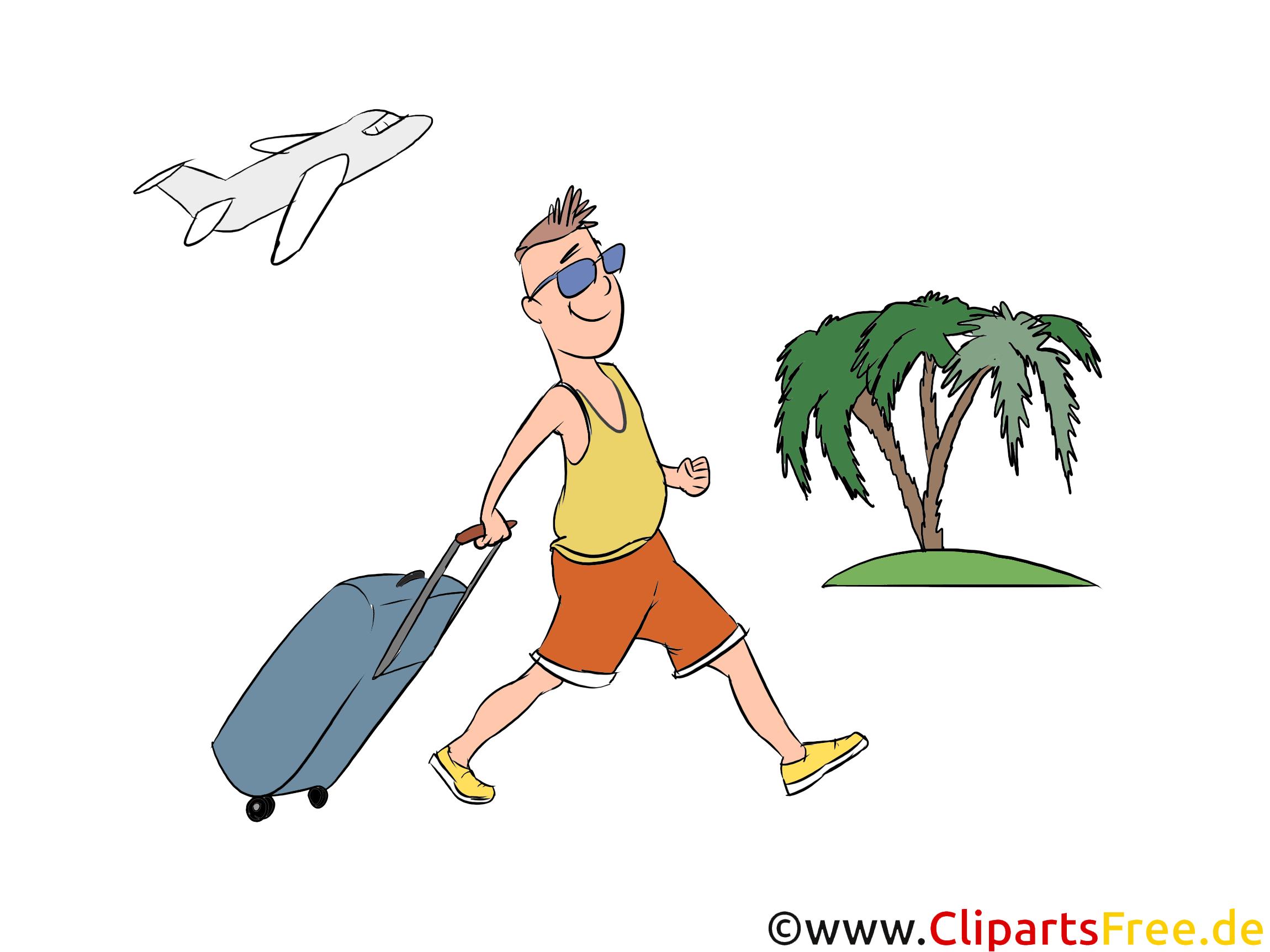 clipart urlaub in tropen kostenlos