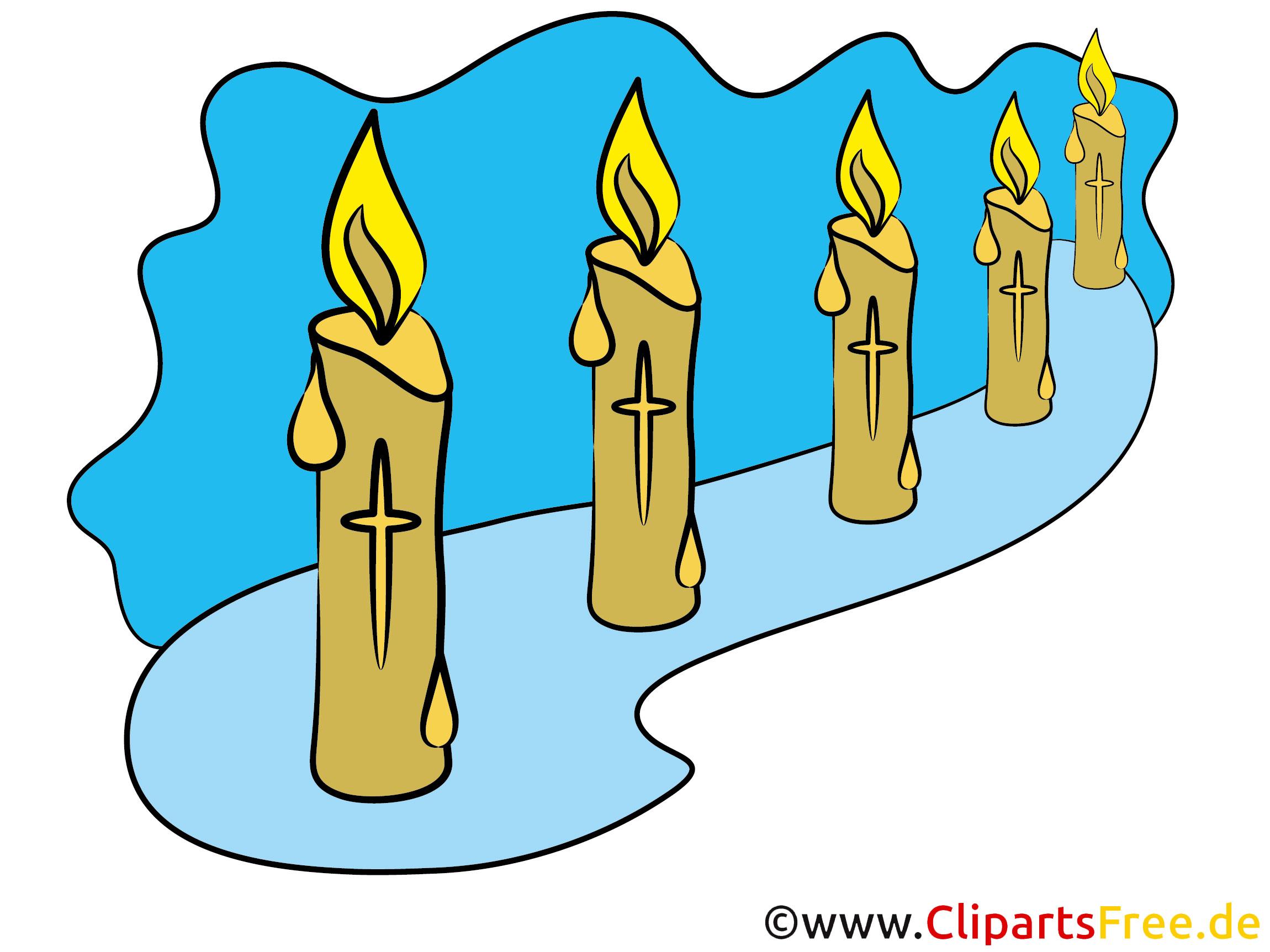 Kerzen Bilder  zu Allerheiligen