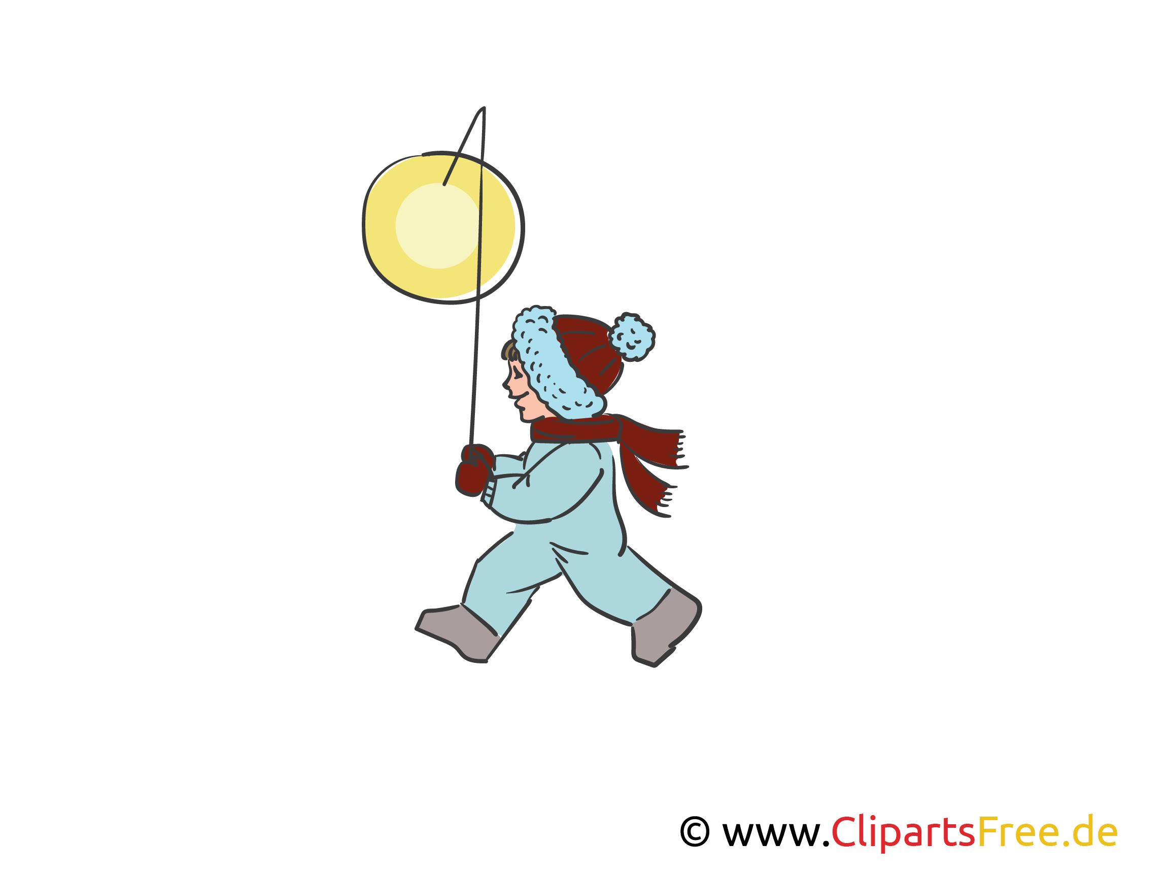 Laterne, Laterne, Sonne, Mond und Sterne Illustration, Clipart, Bild