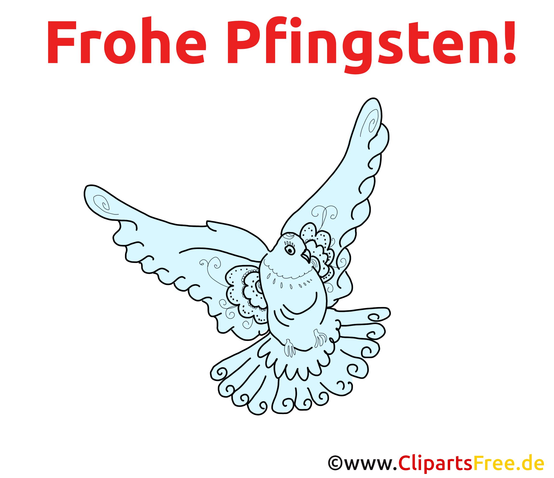 Frohe Pfingsten Karte