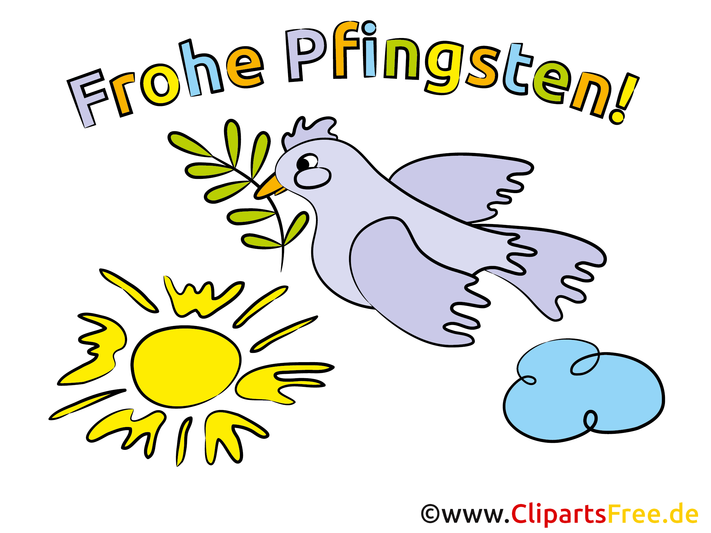 Pfingsten Feiertag Bild - Clipart