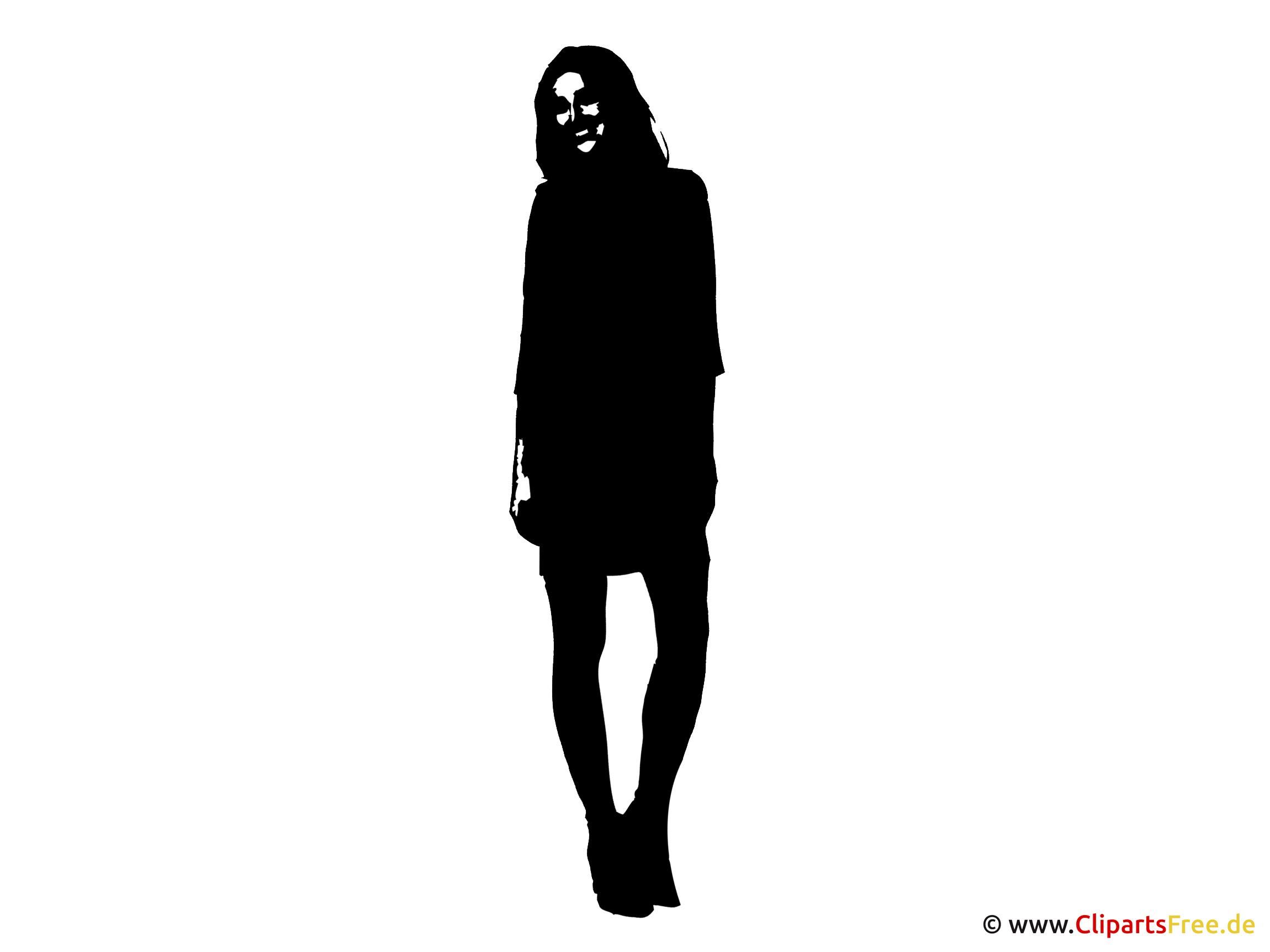 Frau Silhouette