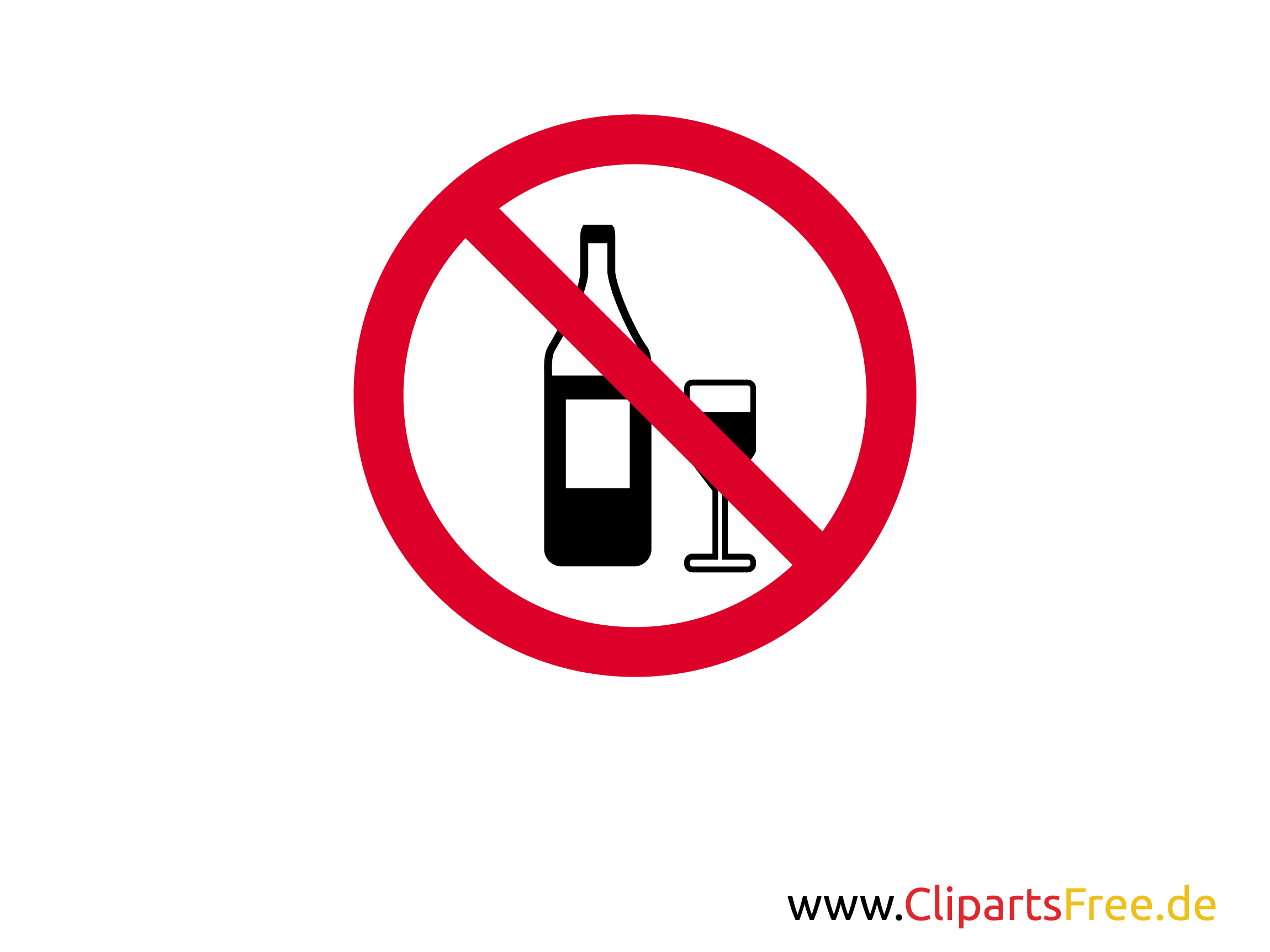 verbotsschild alkoholgetr nke verboten zum ausdrucken. Black Bedroom Furniture Sets. Home Design Ideas