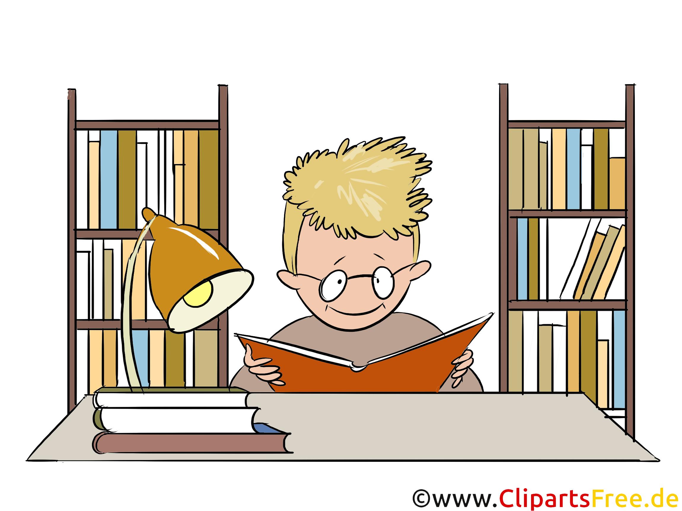 Bibliothek Clipart