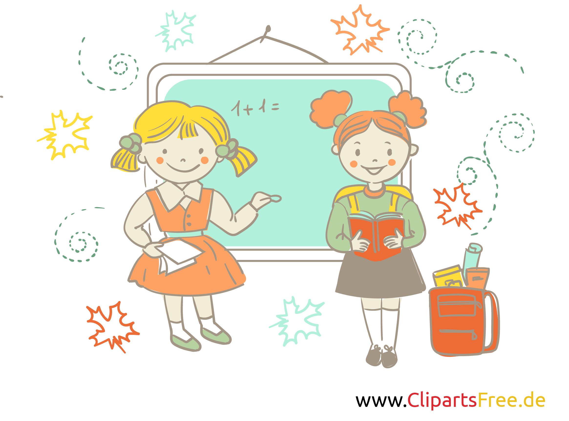Bilder für Schule und Unterricht - Grüne Tafel