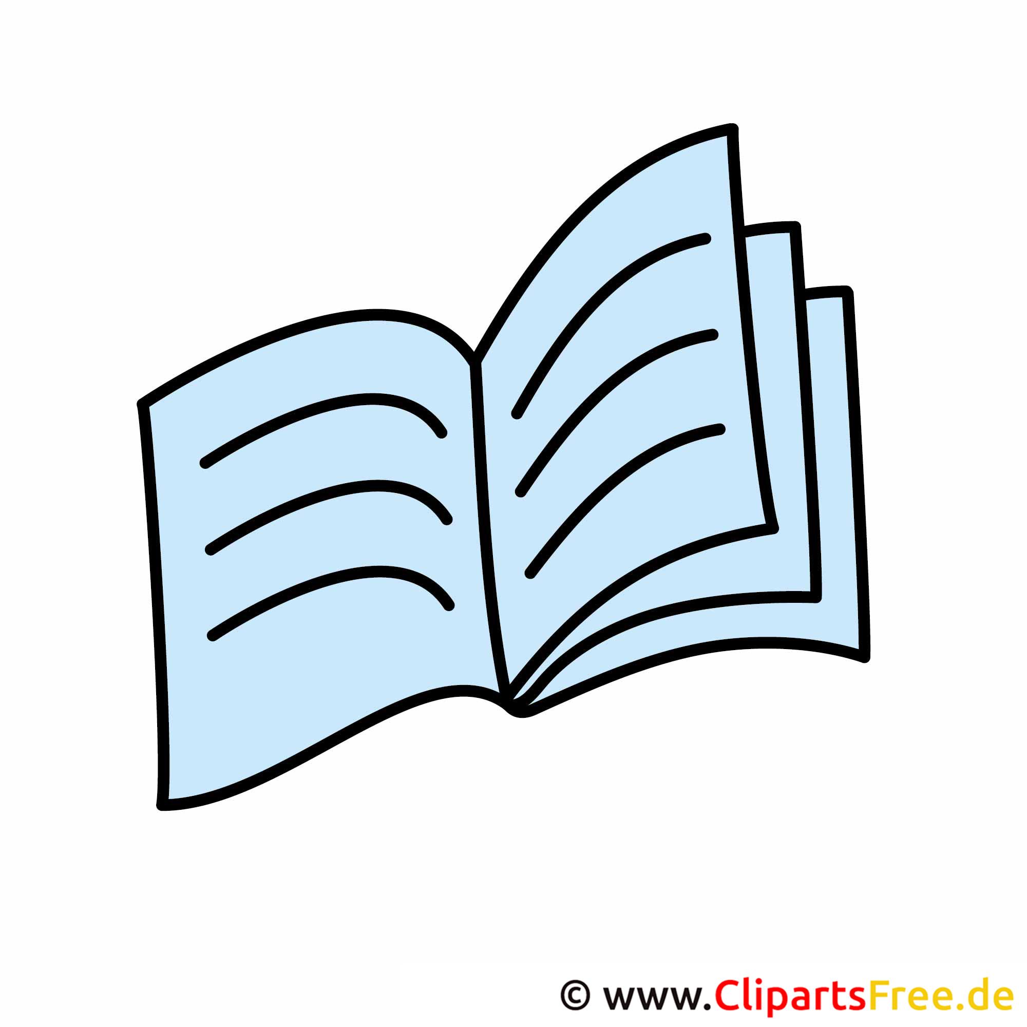 Aufgeschlagenes buch clipart  Buch Cliparts kostenlos
