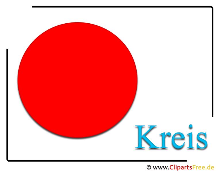 Clipart-Bild Kreis für Schule