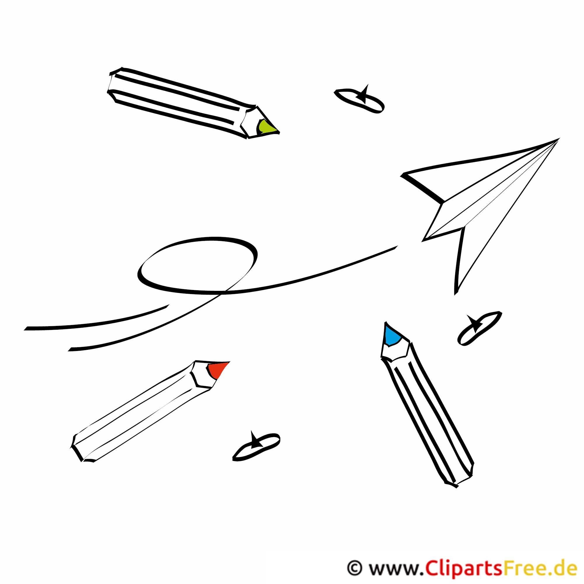 Schule clipart schwarz weiß  Schule Bilder, Cliparts, Cartoons, Grafiken, Illustrationen, Gifs ...