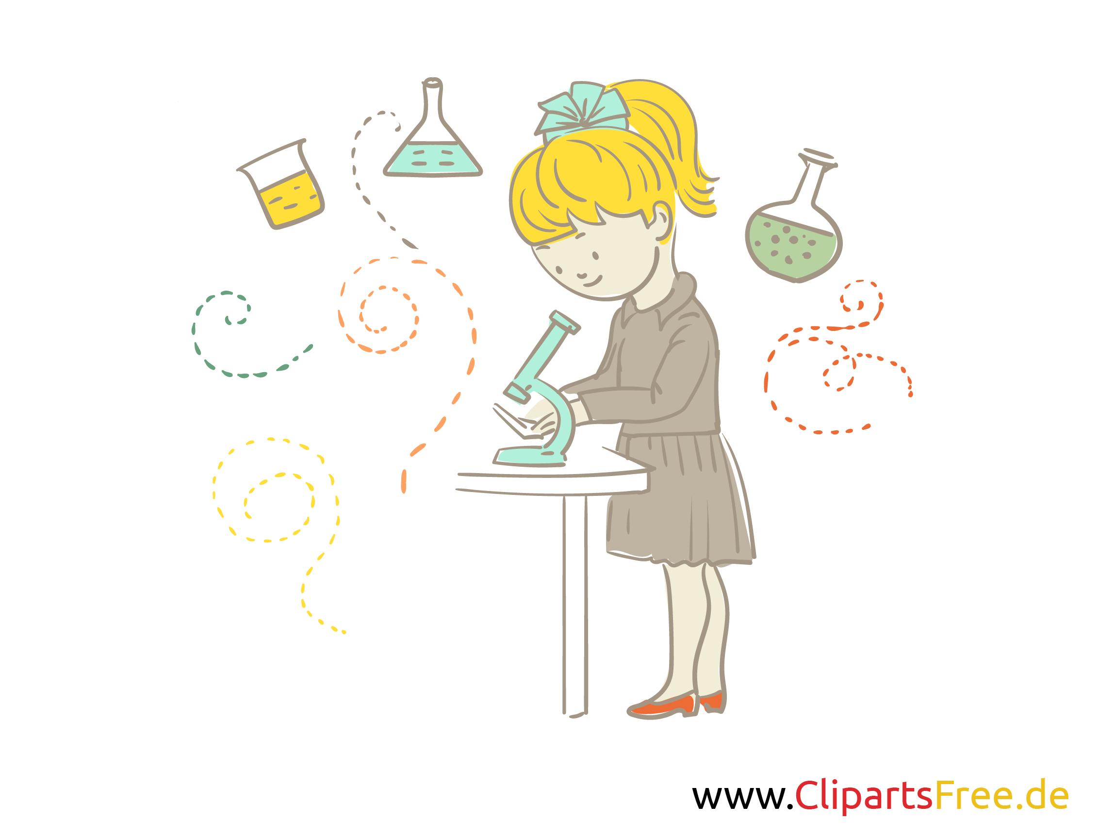 Kostenloses Schulbild Experimente in der Schule