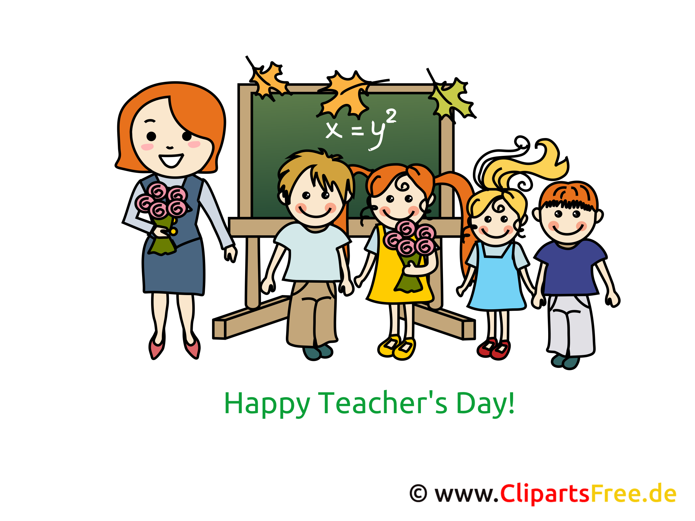 Teachers Day Clip Card, Art, Pic