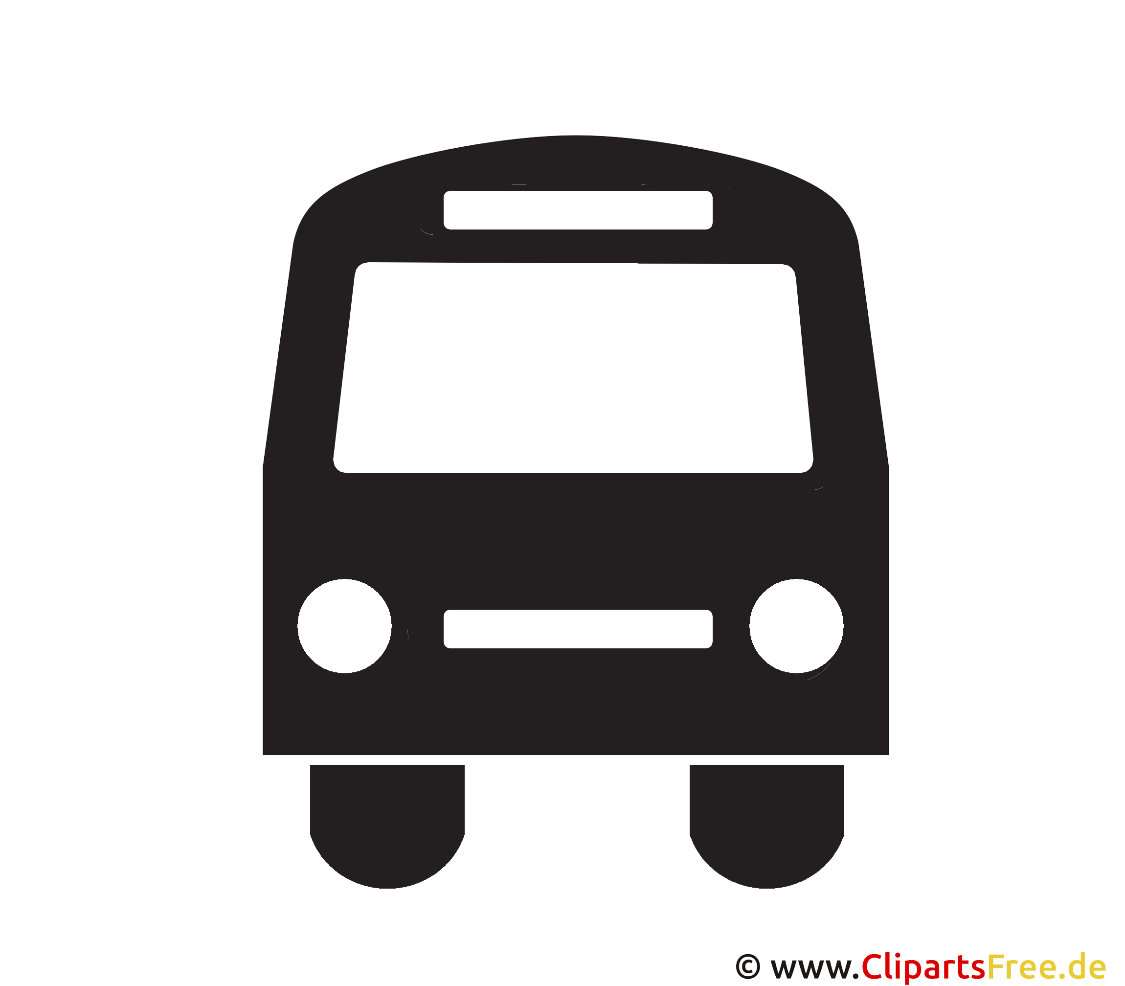 Bus Icon Clipart