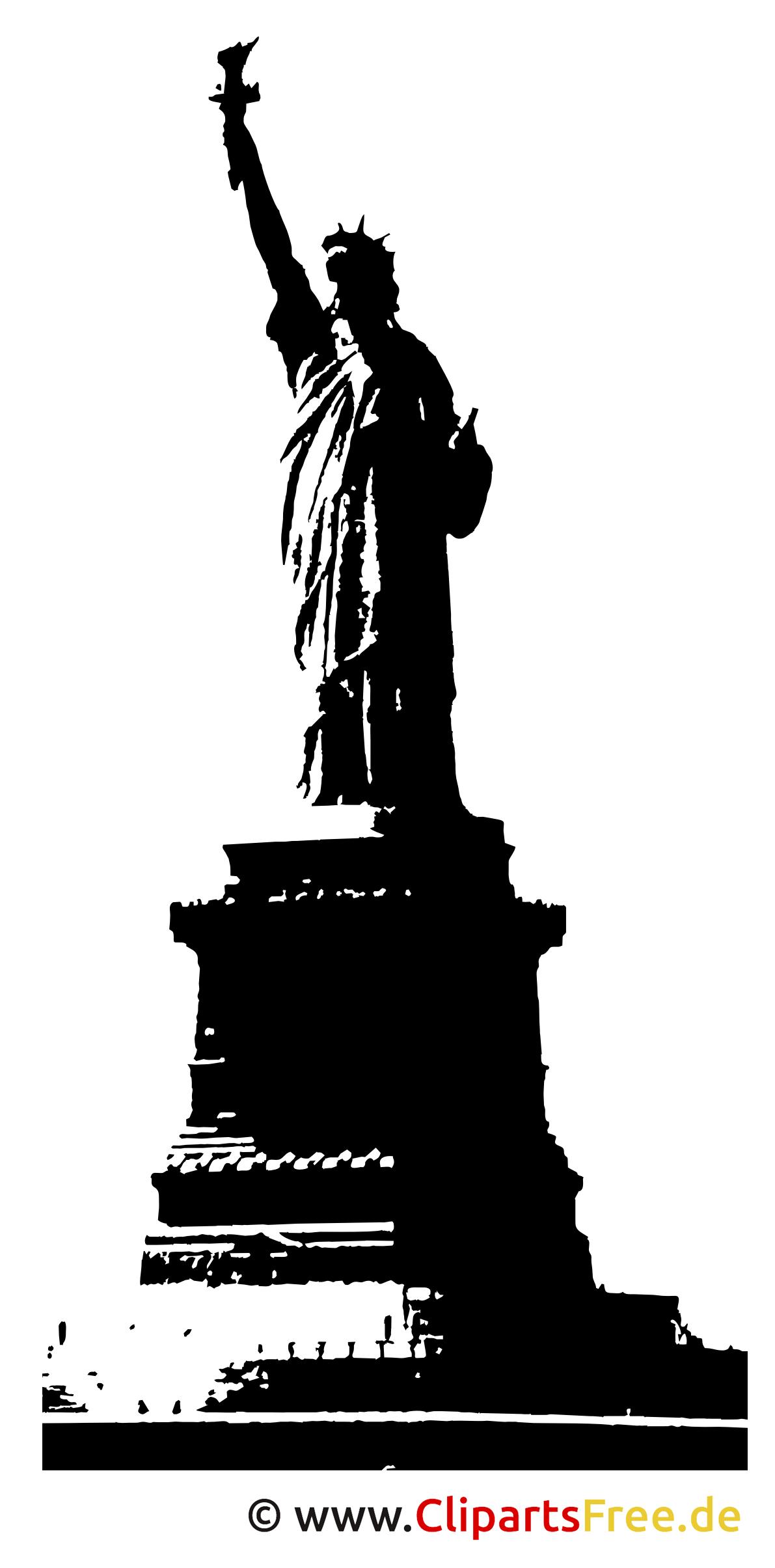 Freiheitsstatue Clipart