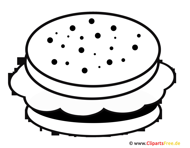 Hamburger Clipart Food