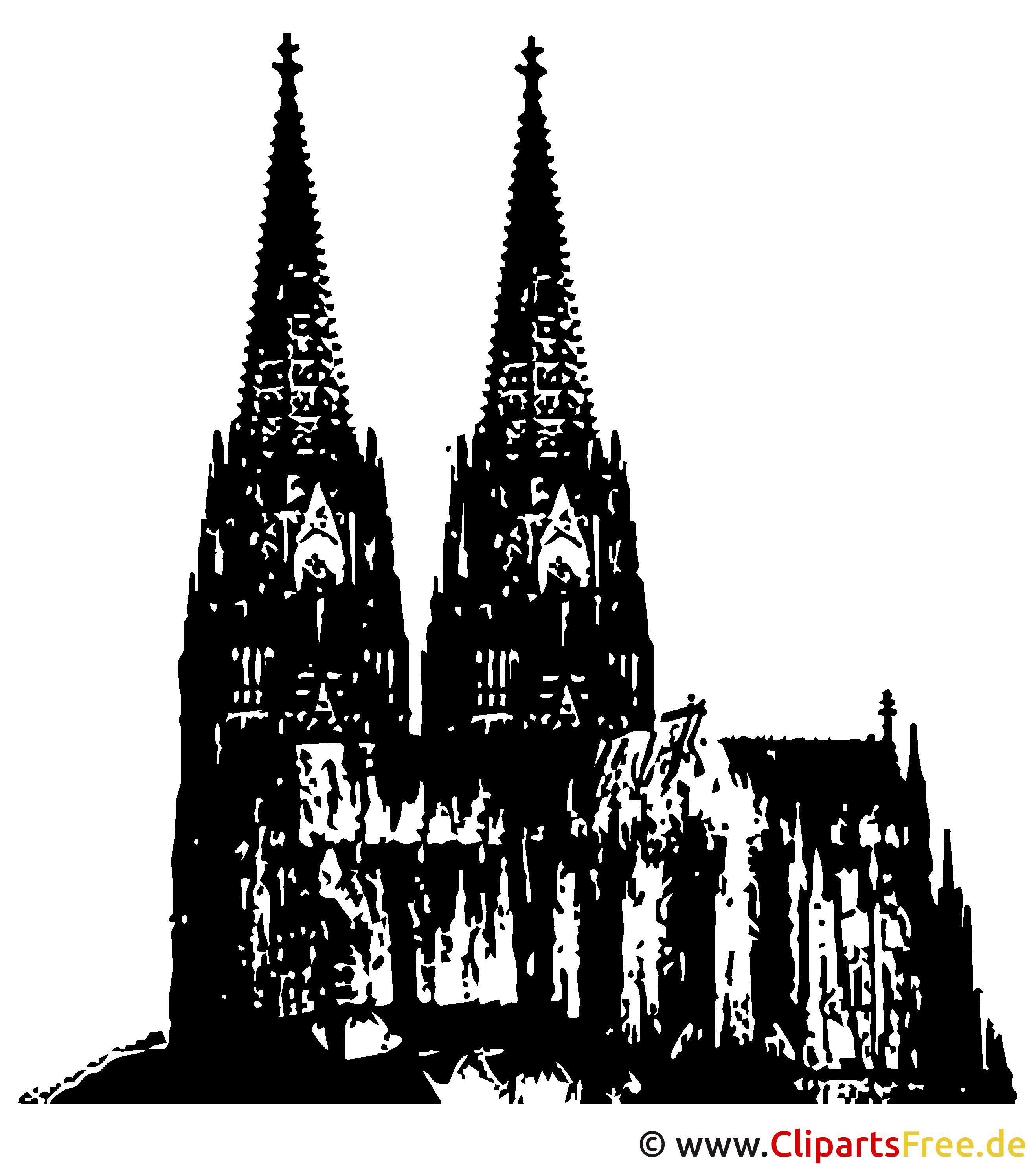 Köln Clipart-Illustration