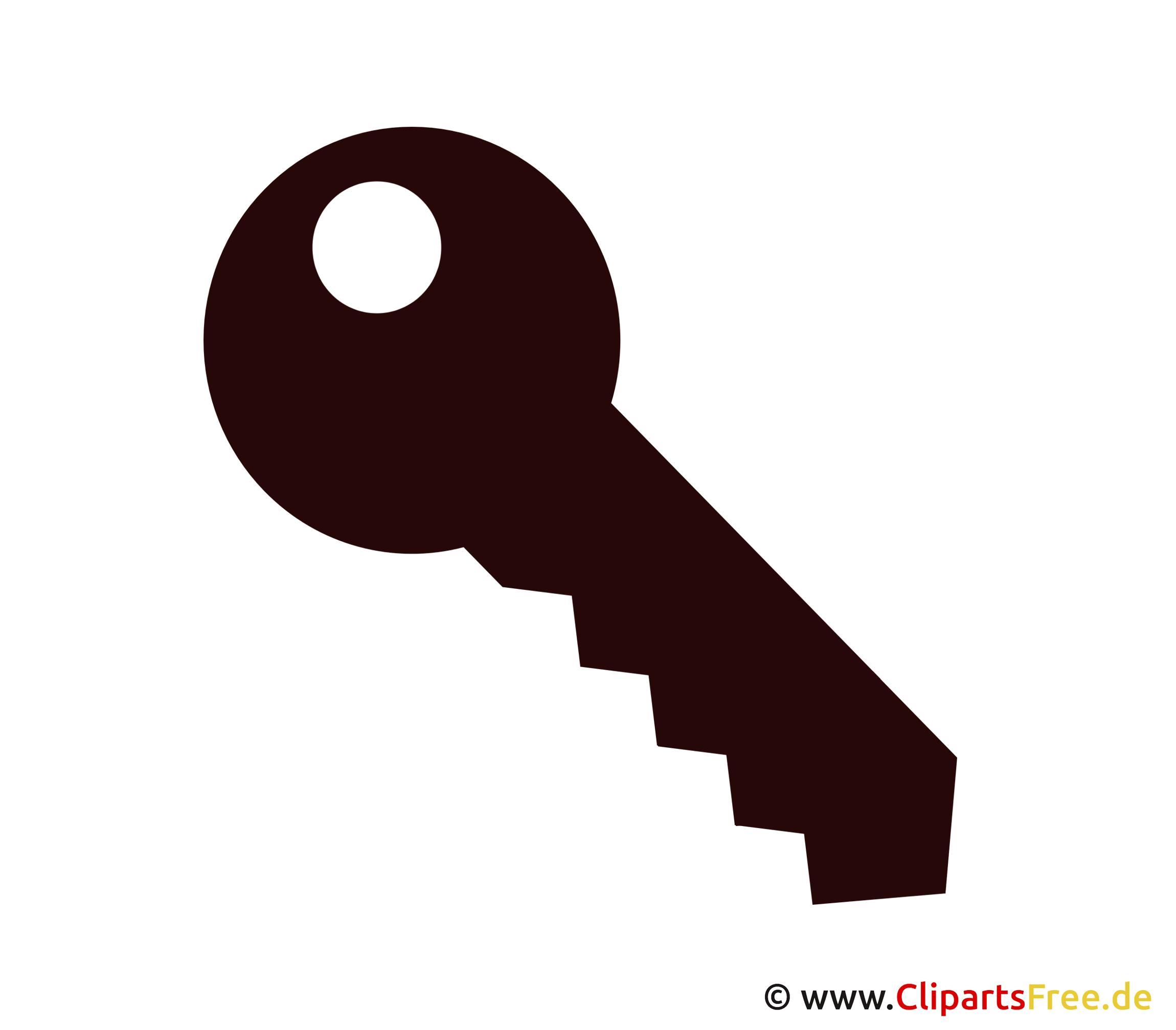 Schlüssel Clip Art, Bild, Illustration free