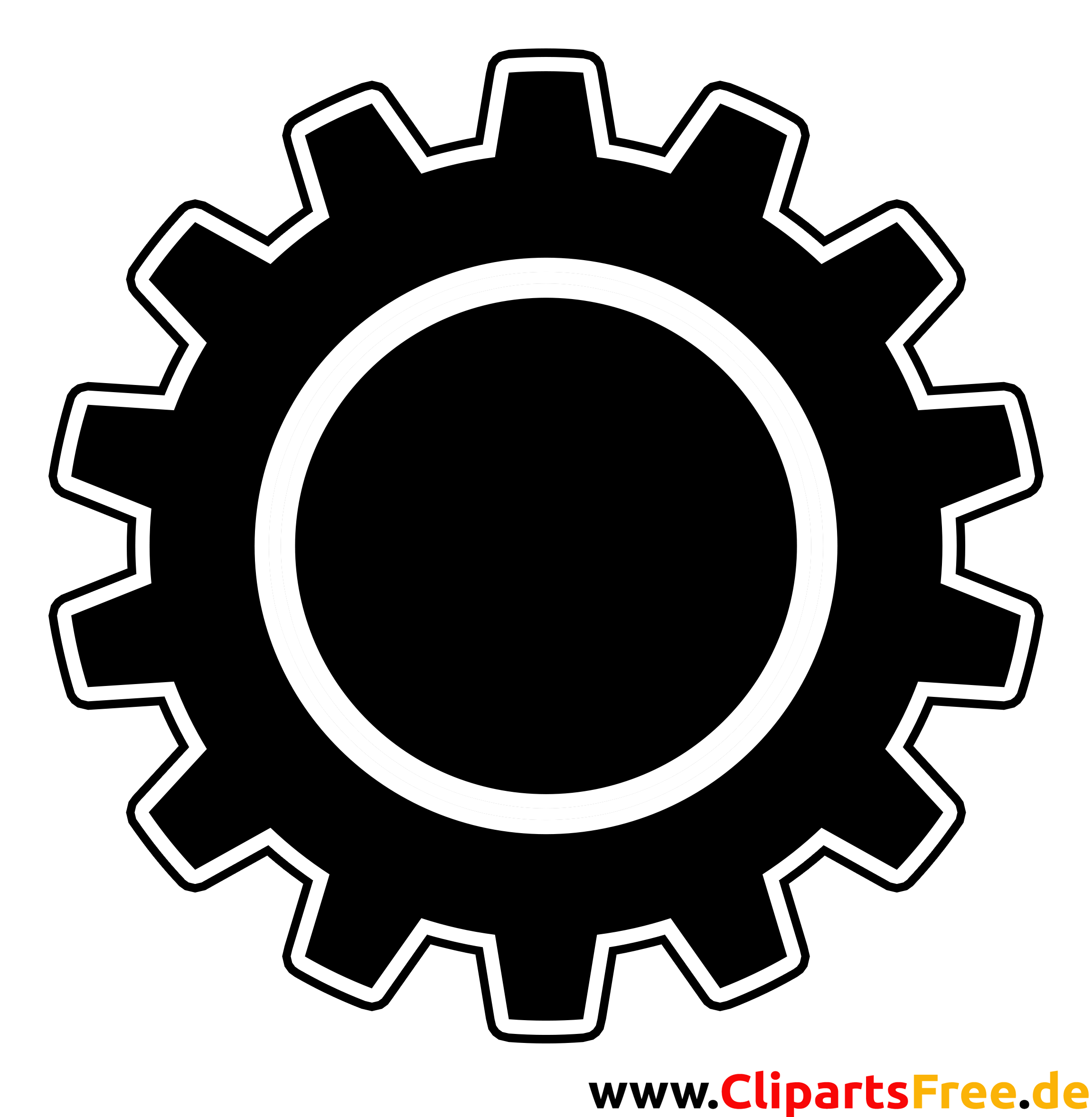 Zahnrad kostenloses Bild-Clipart