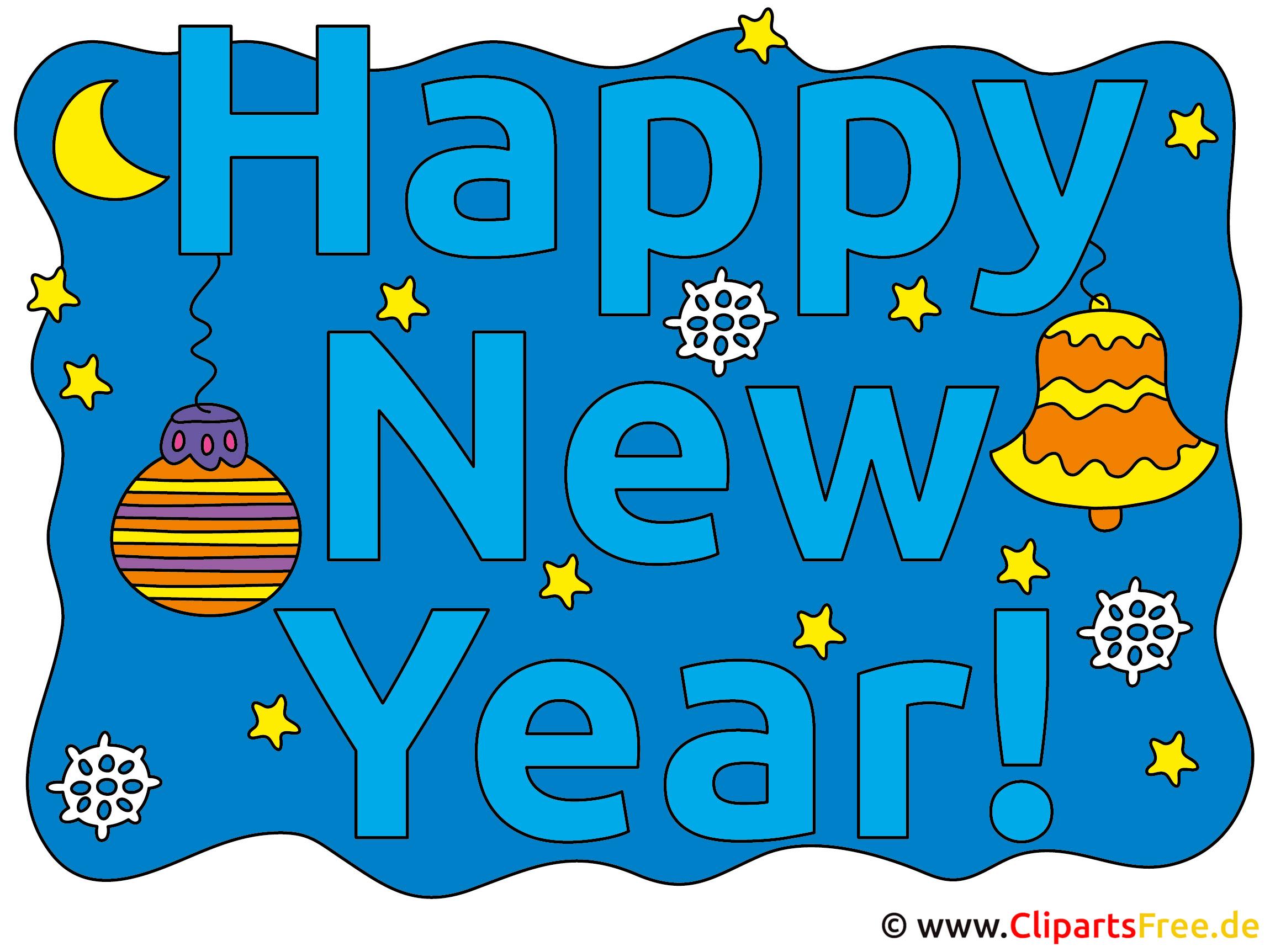Bilder Neujahrsgrüße - Happy New Year