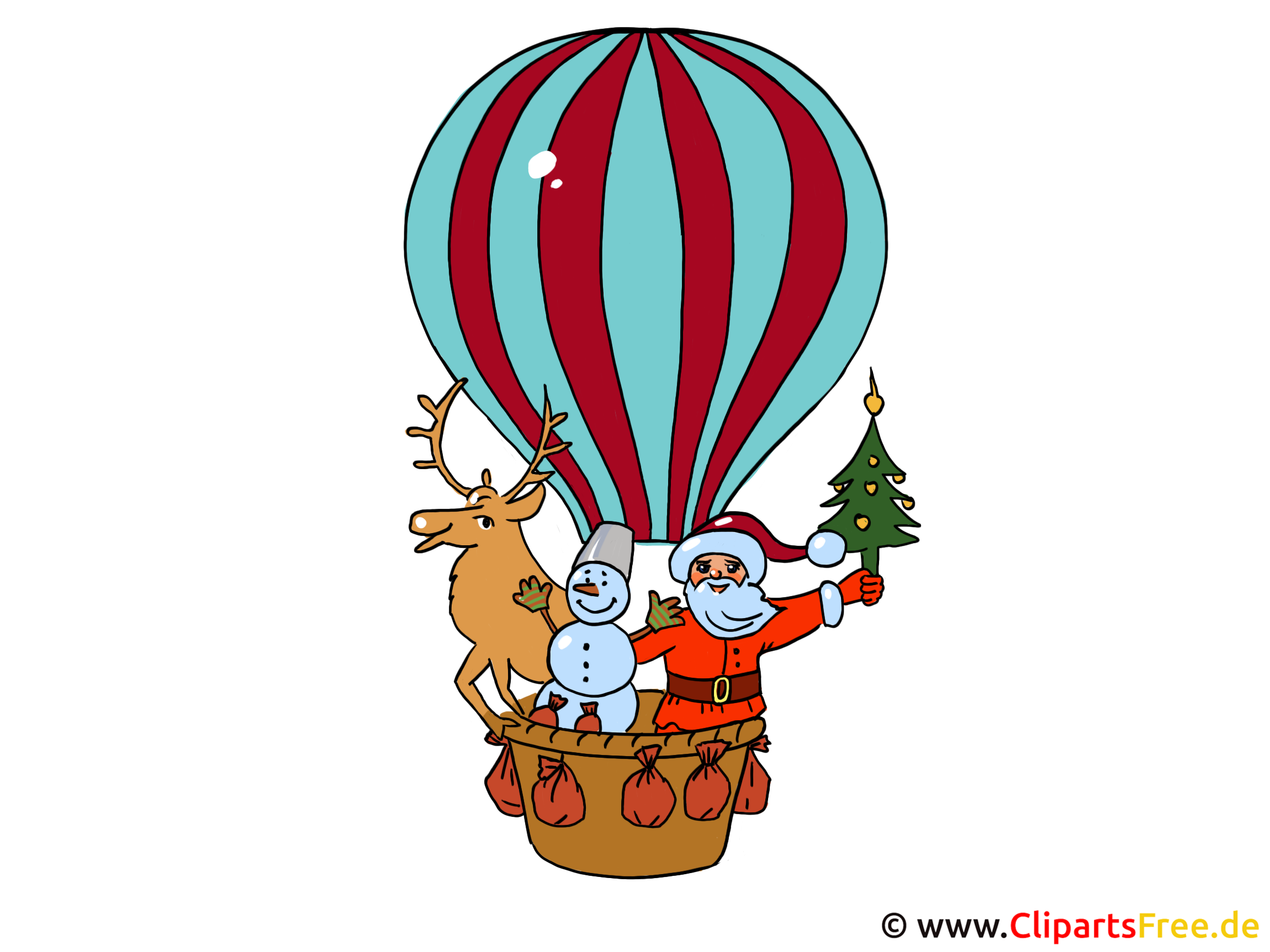 Clip Art New Year Party