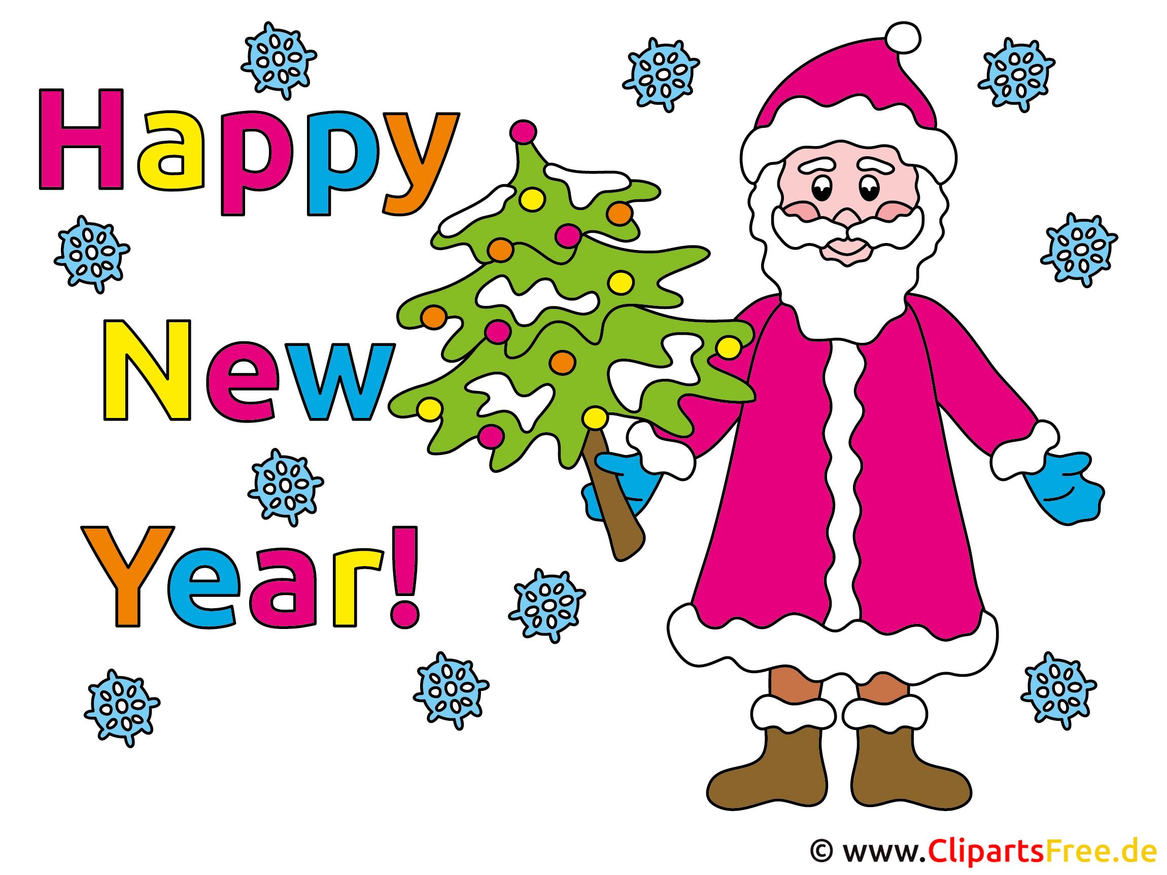 Clipart Neues Jahr