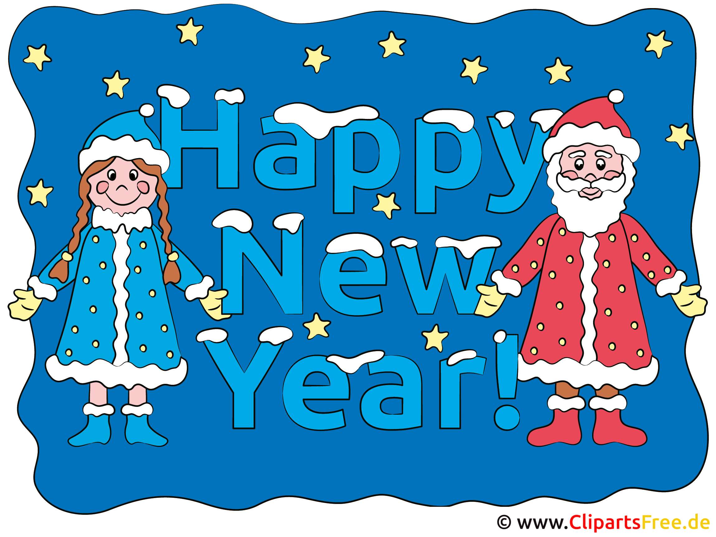 ecard New Year