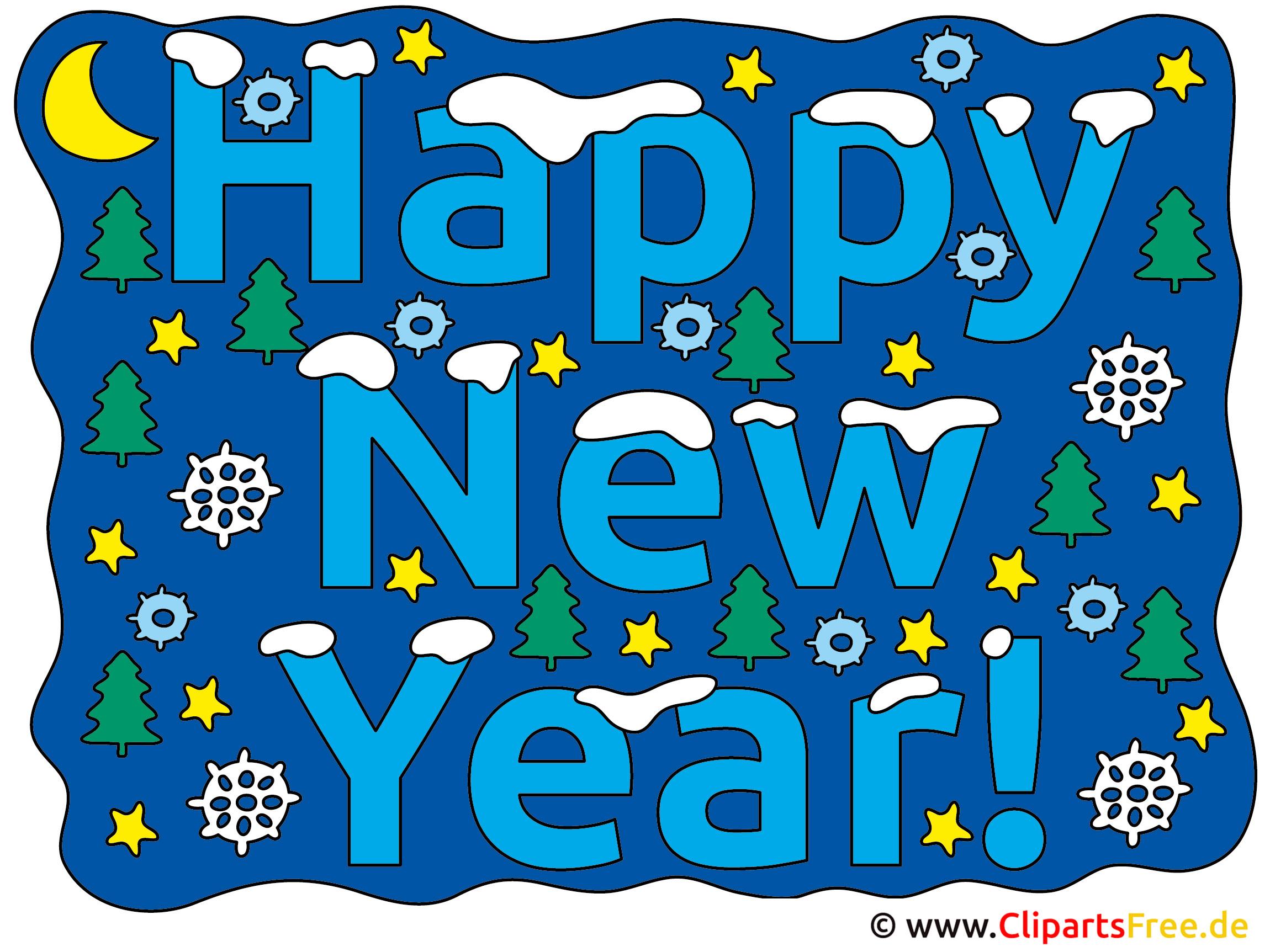 Neujahr Bild