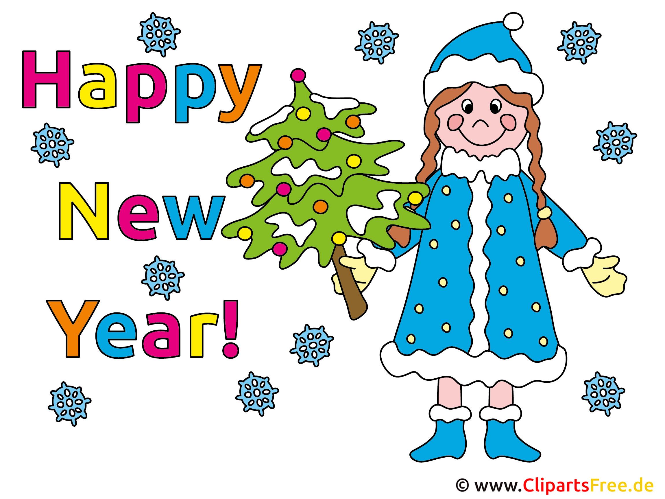Neujahr Karten