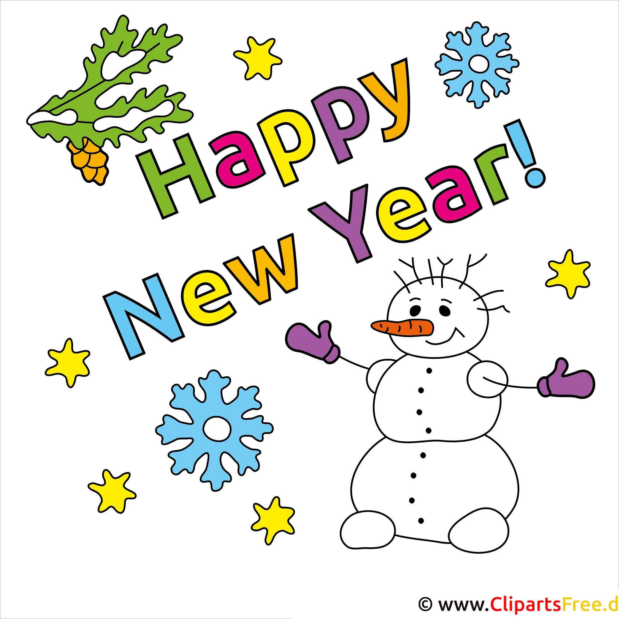 Neujahrsgrüße Bilder kostenlos