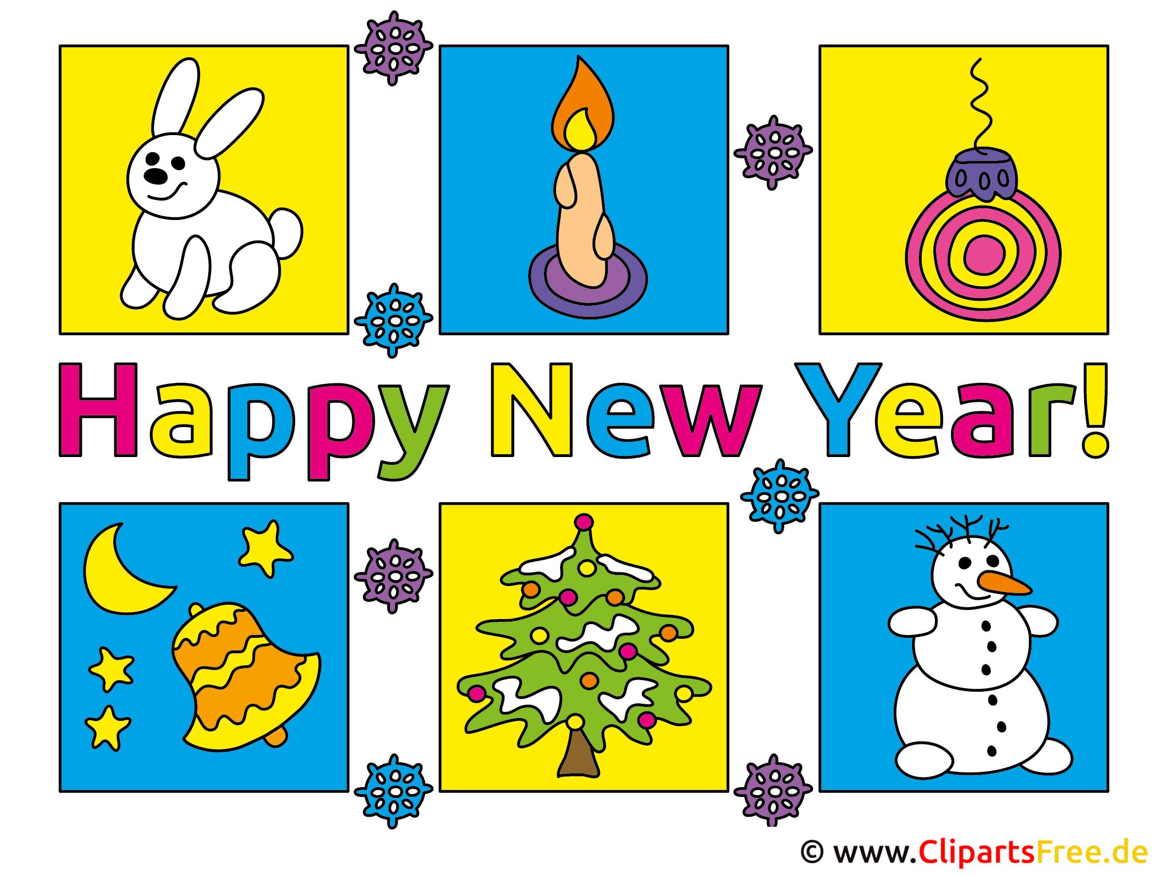Neujahrswünsche Bilder kostenlos