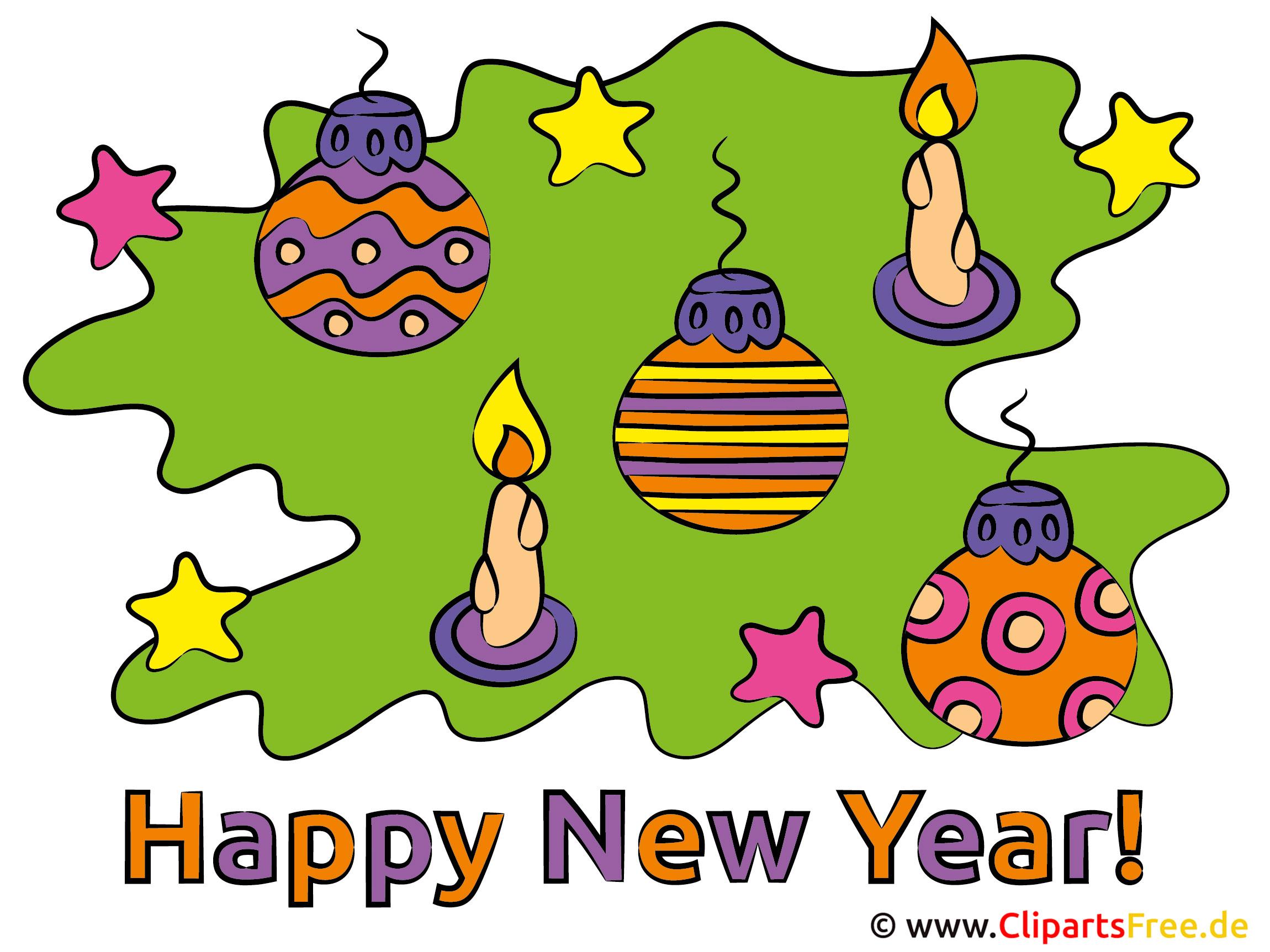 Neujahrswünsche mit Bildern