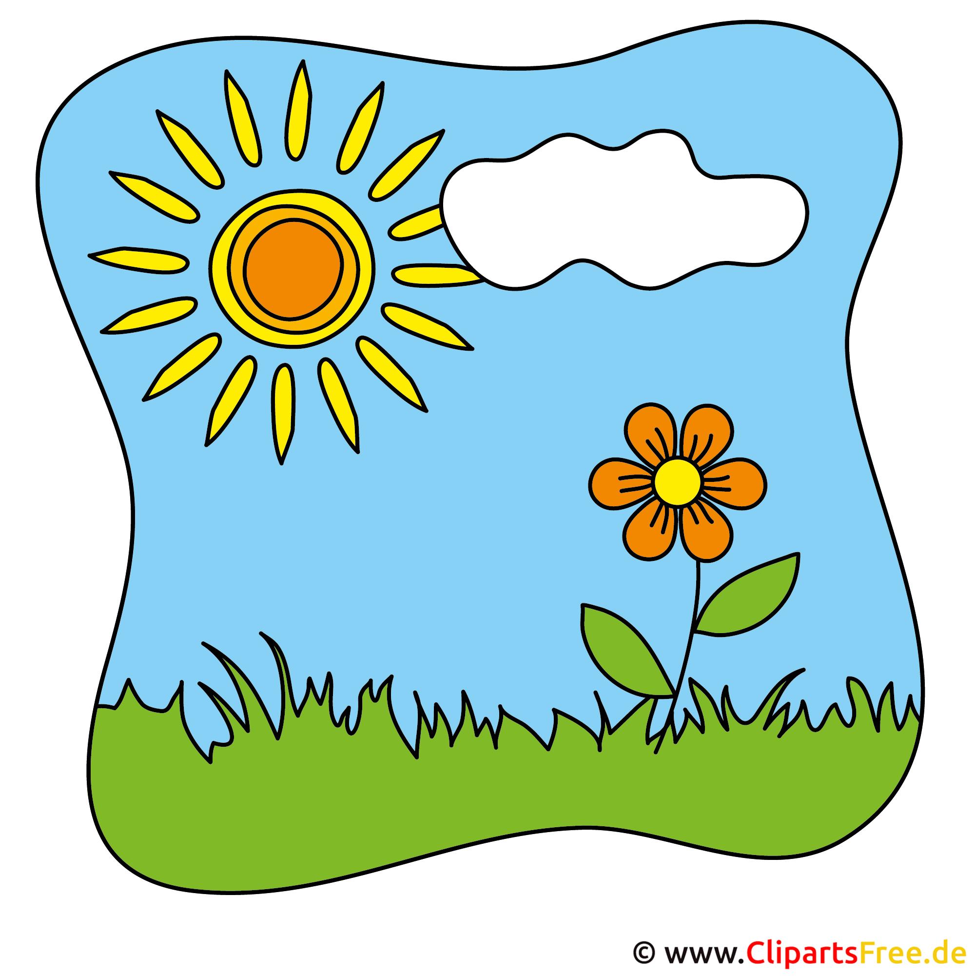Flower Clip Art - Kostenlose Bilder zum Sommer