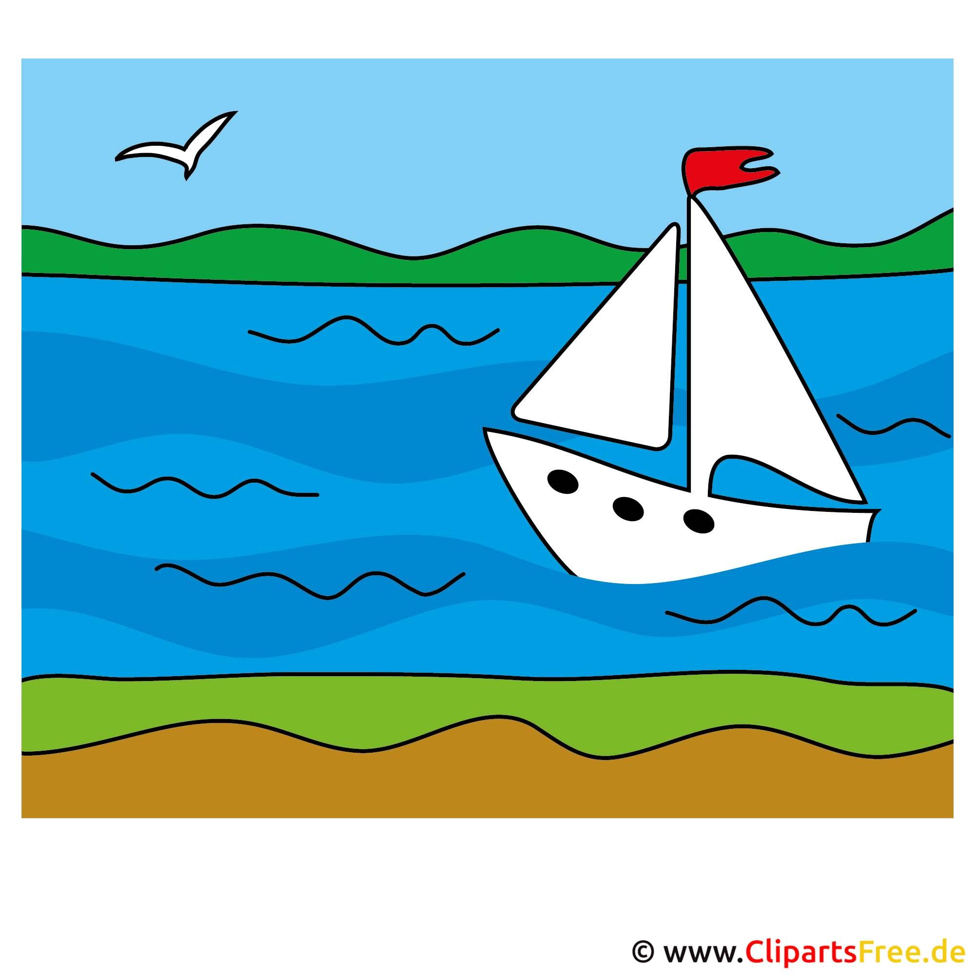 segelschiff clip art lizenzfreie und kostenlose bilder zum sommer. Black Bedroom Furniture Sets. Home Design Ideas