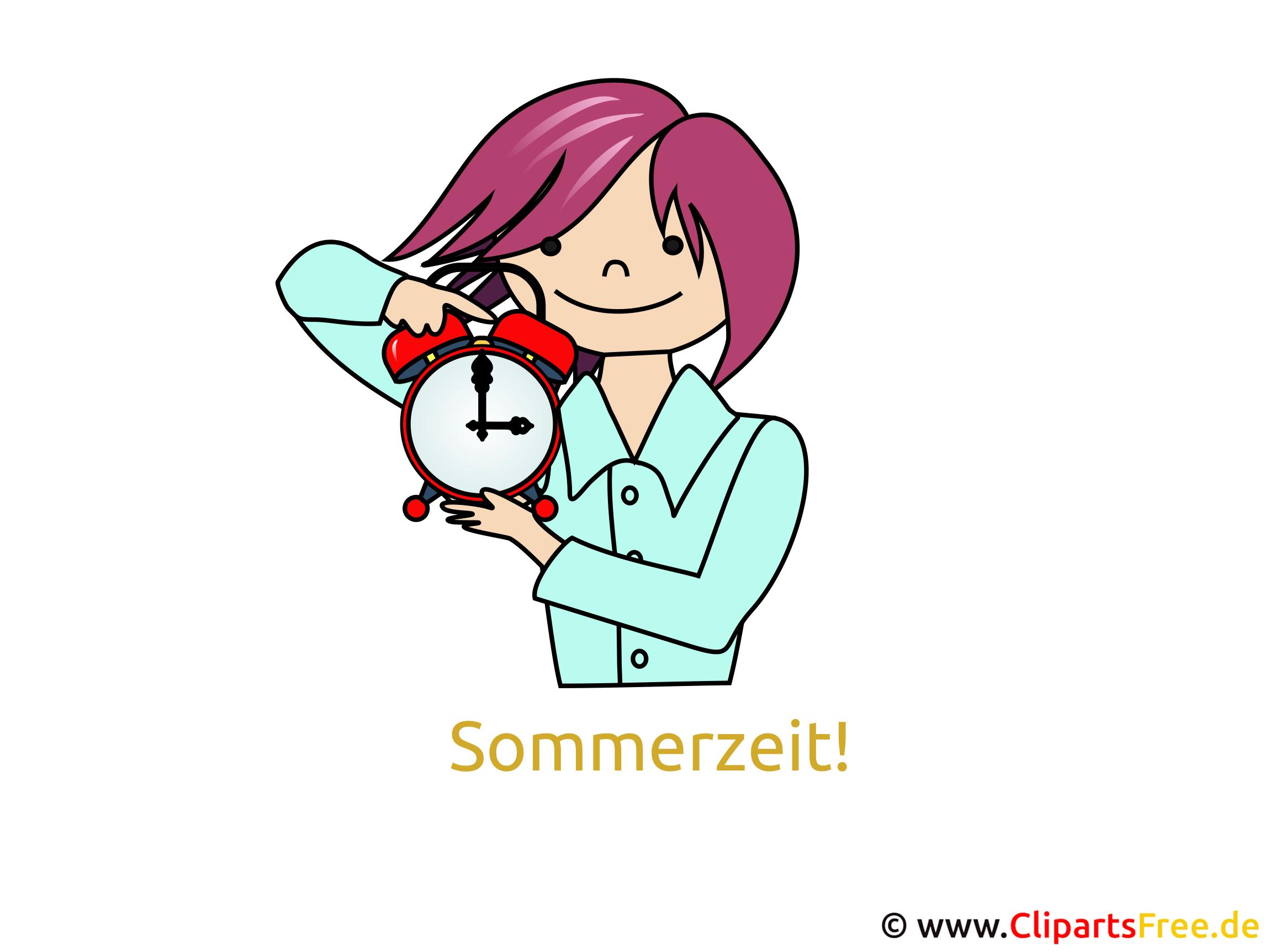 Sommer Zeit GB Bild