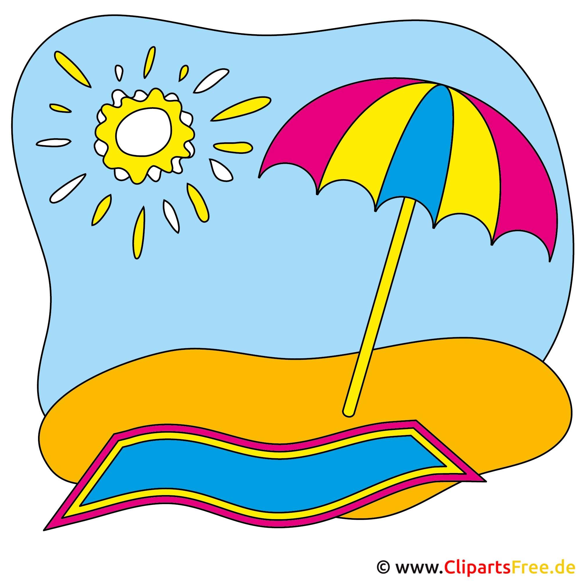 Strand Bilder - Sommer Cliparts free