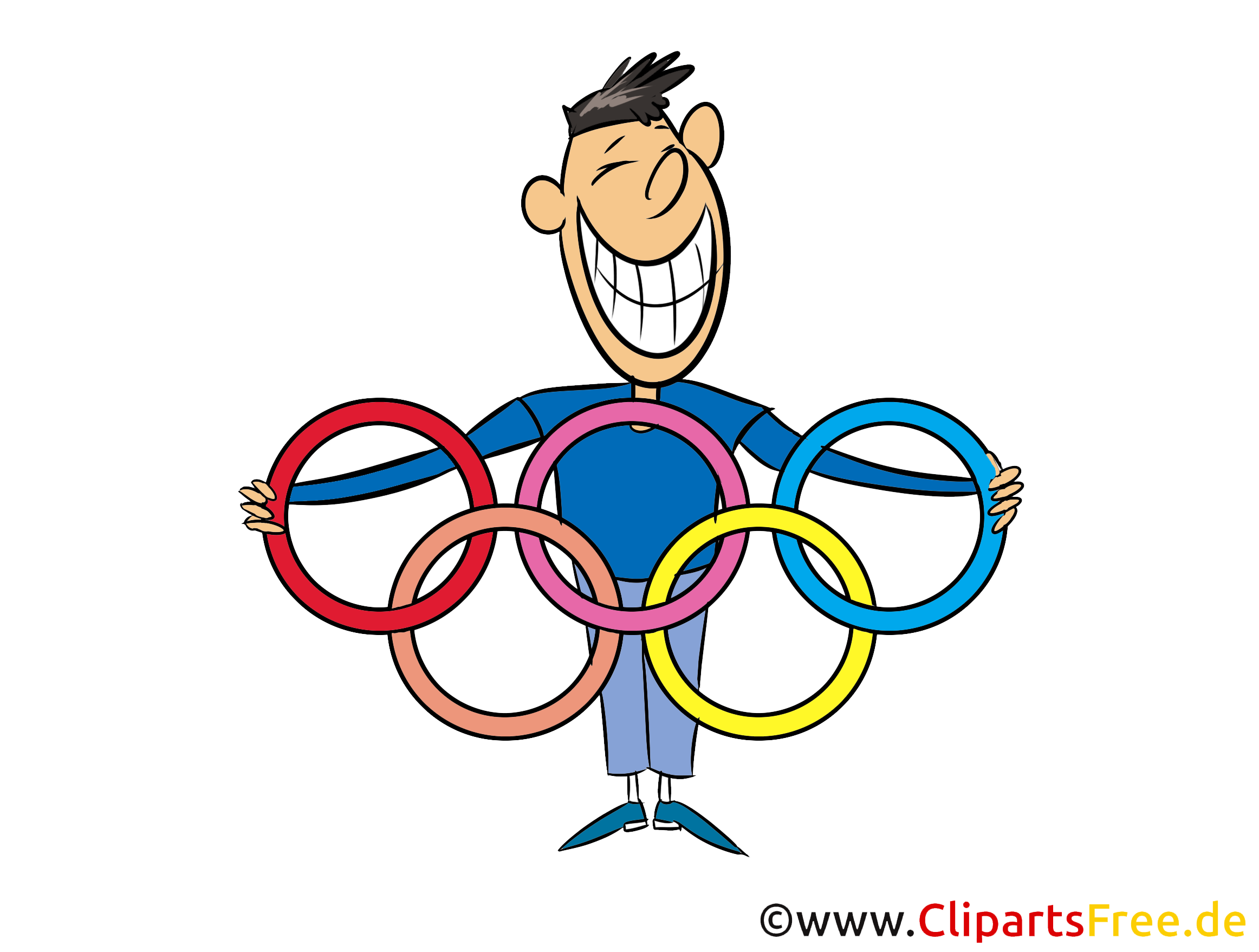 2021 Olympia Comic-Clipart