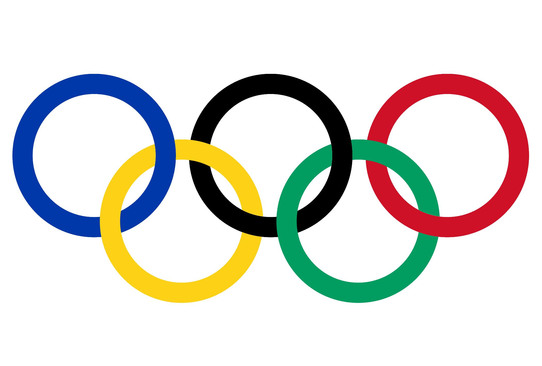 2021 Olympia Ringe transparentes Clipart