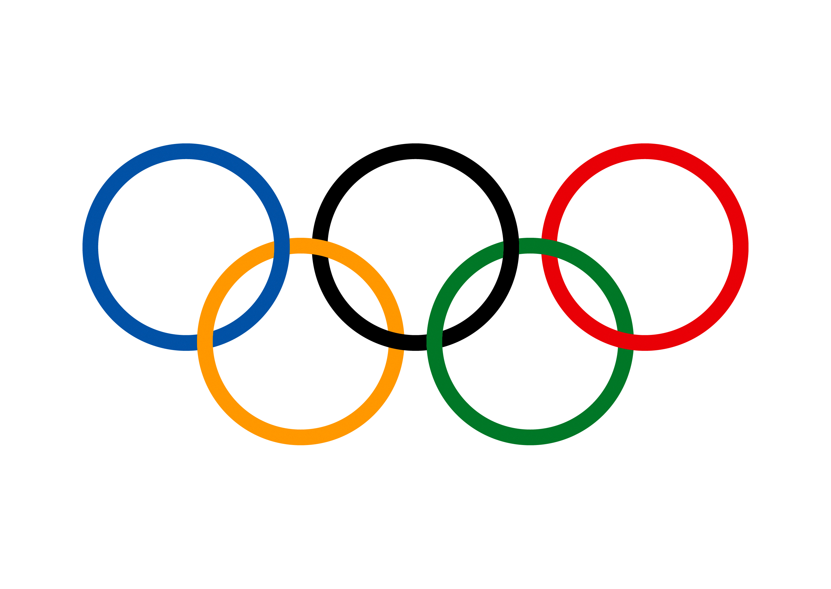 2021 Olympische Ringe PNG-Clipart transparent