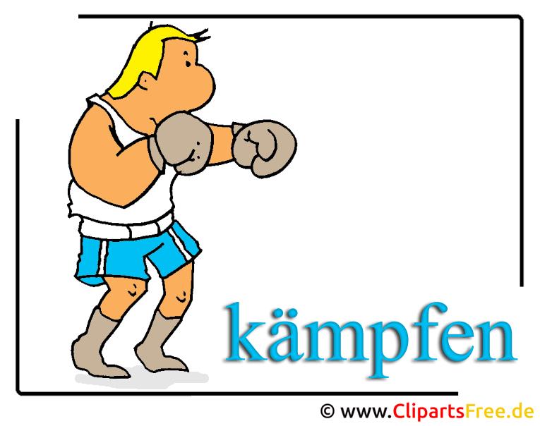 Boxer Clipart free zum Runderladen