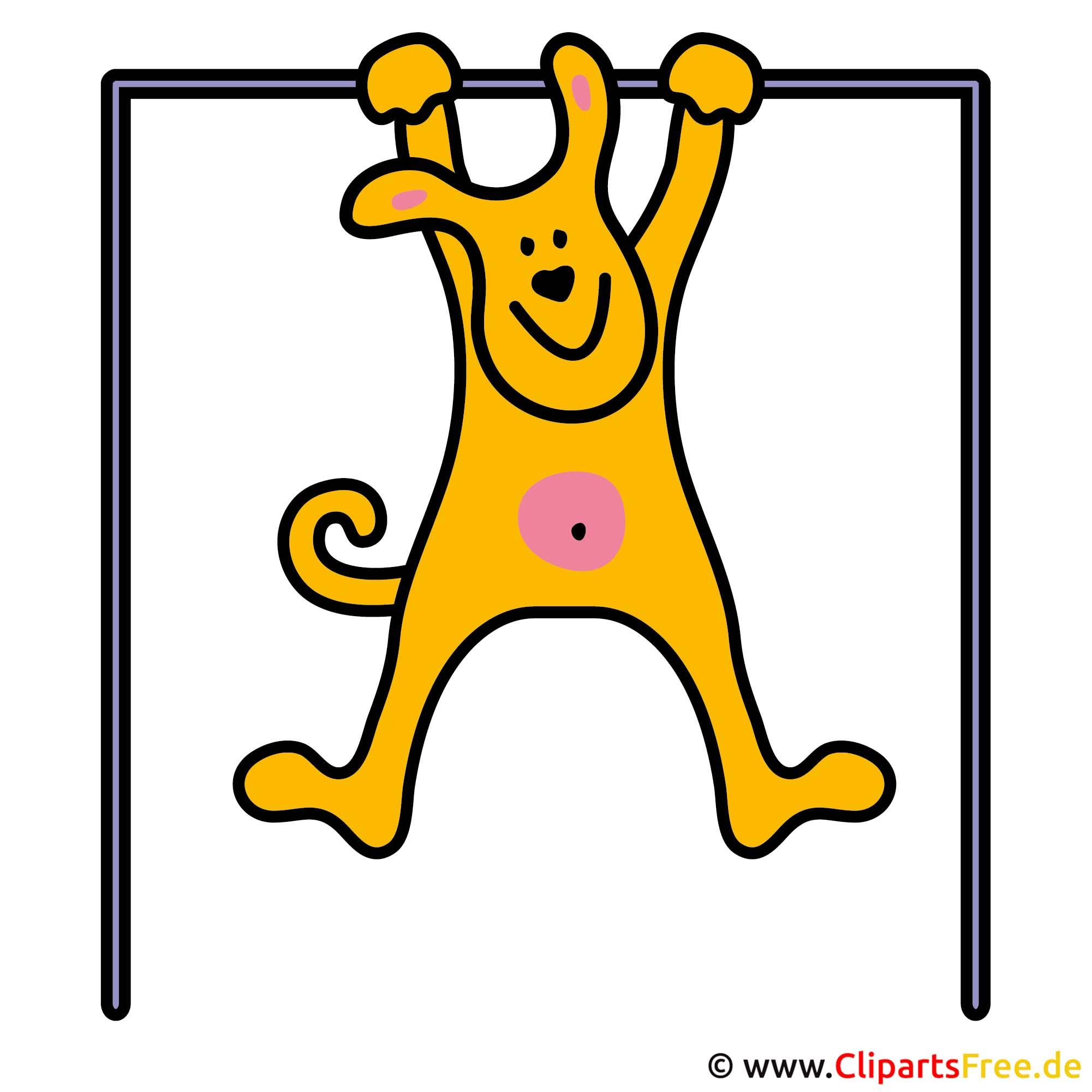 Fitness Bild - Cartoon Cliparts free